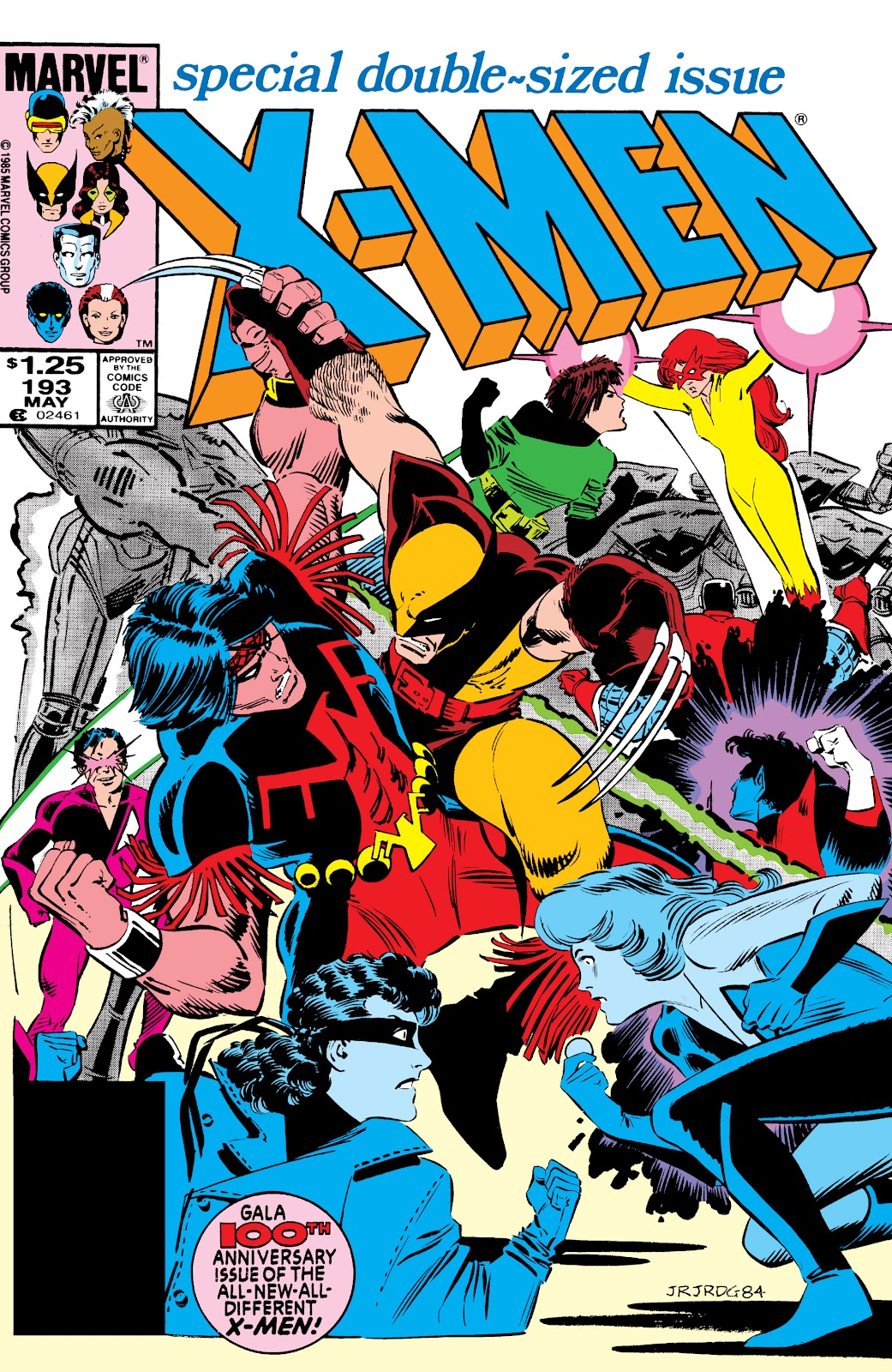 Uncanny X-Men (1963) 193 Page 1