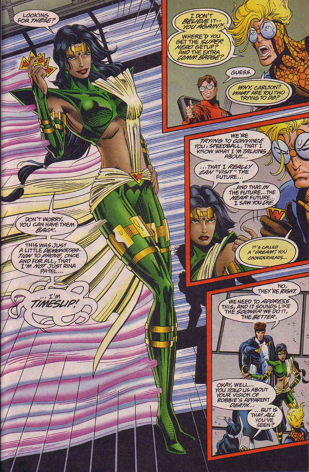 The New Warriors Issue #64 #68 - English 20