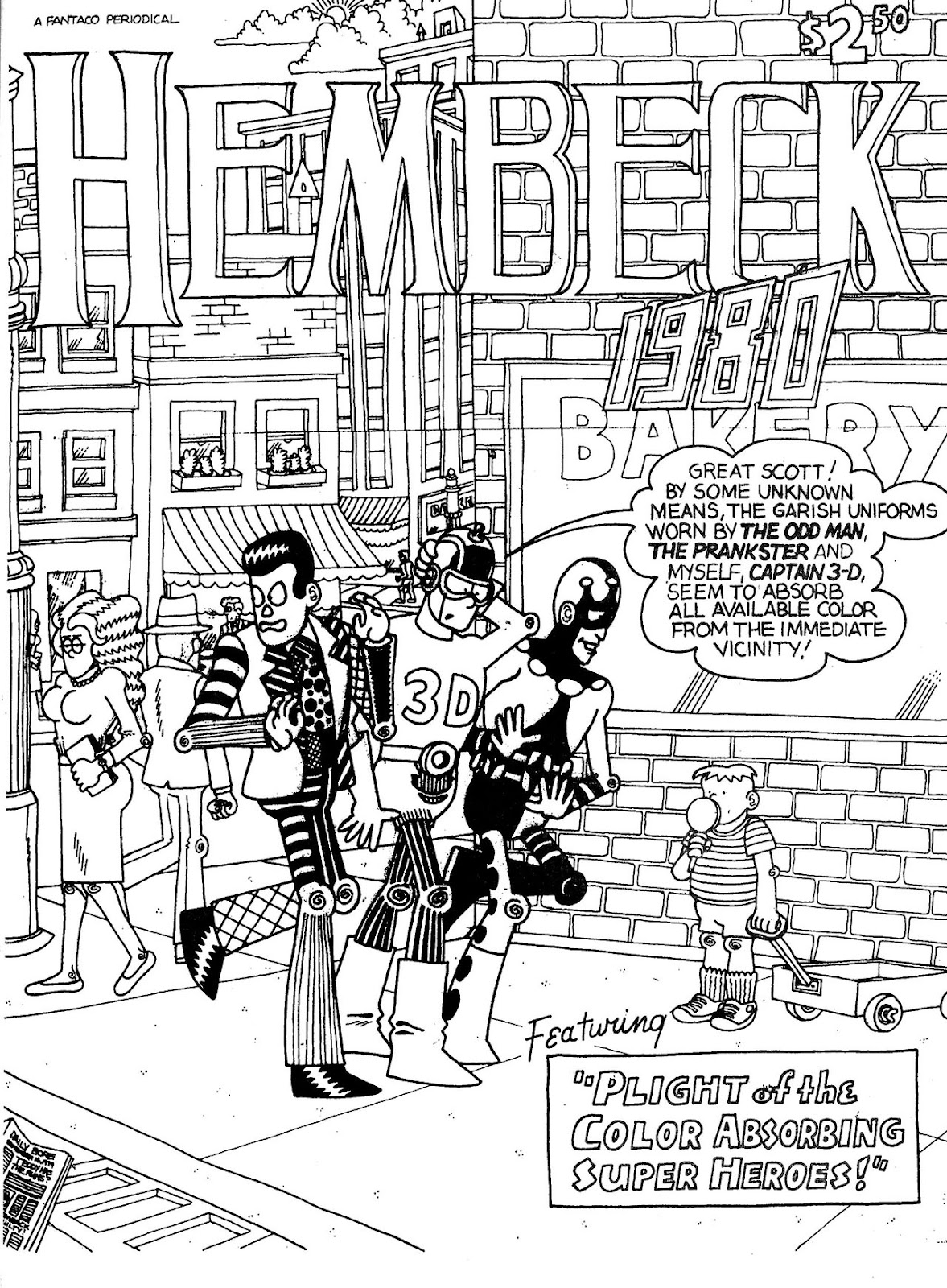 Read online The Nearly Complete Essential Hembeck Archives Omnibus comic -  Issue # TPB (Part 1) - 83