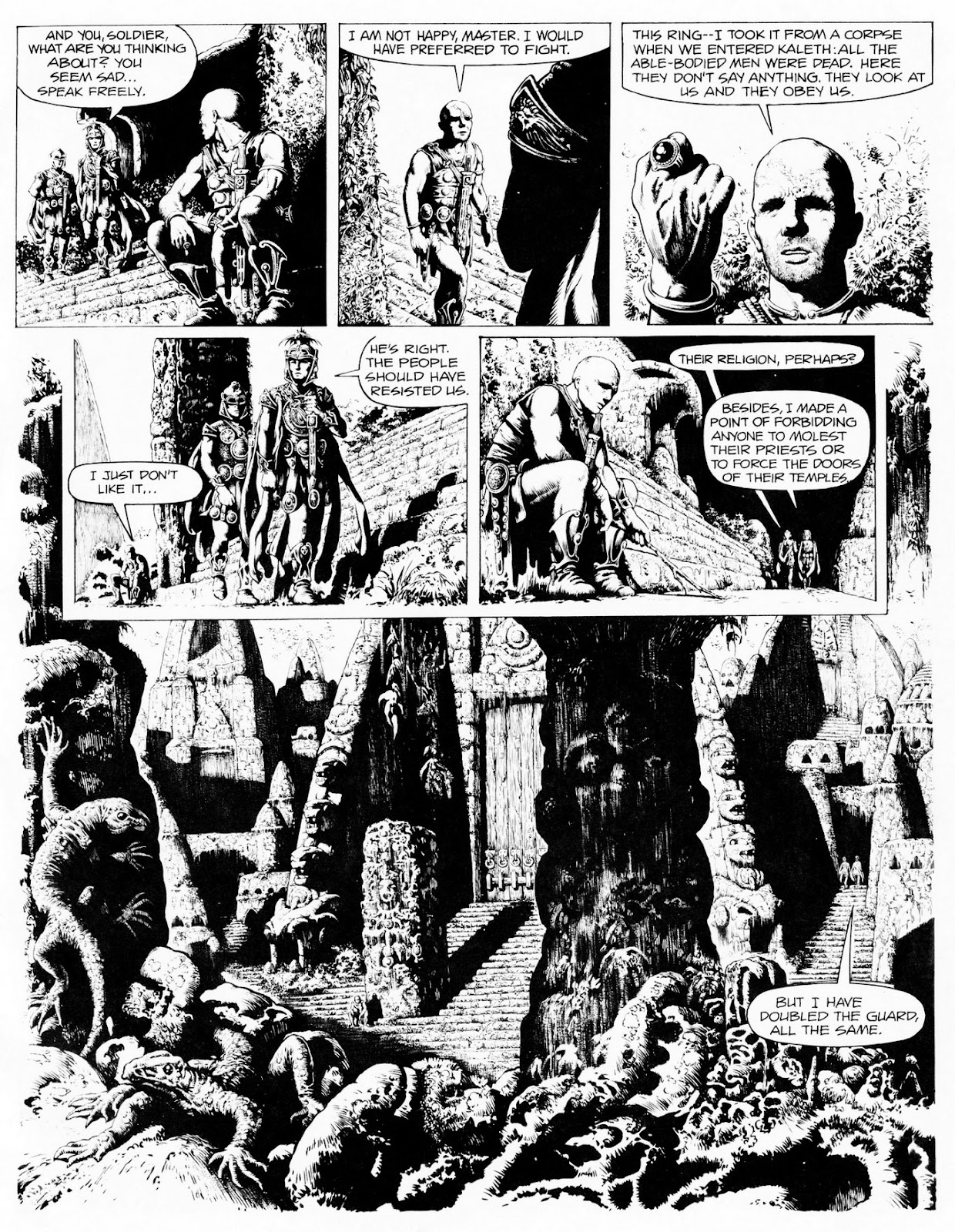 Conquering Armies issue TPB - Page 9