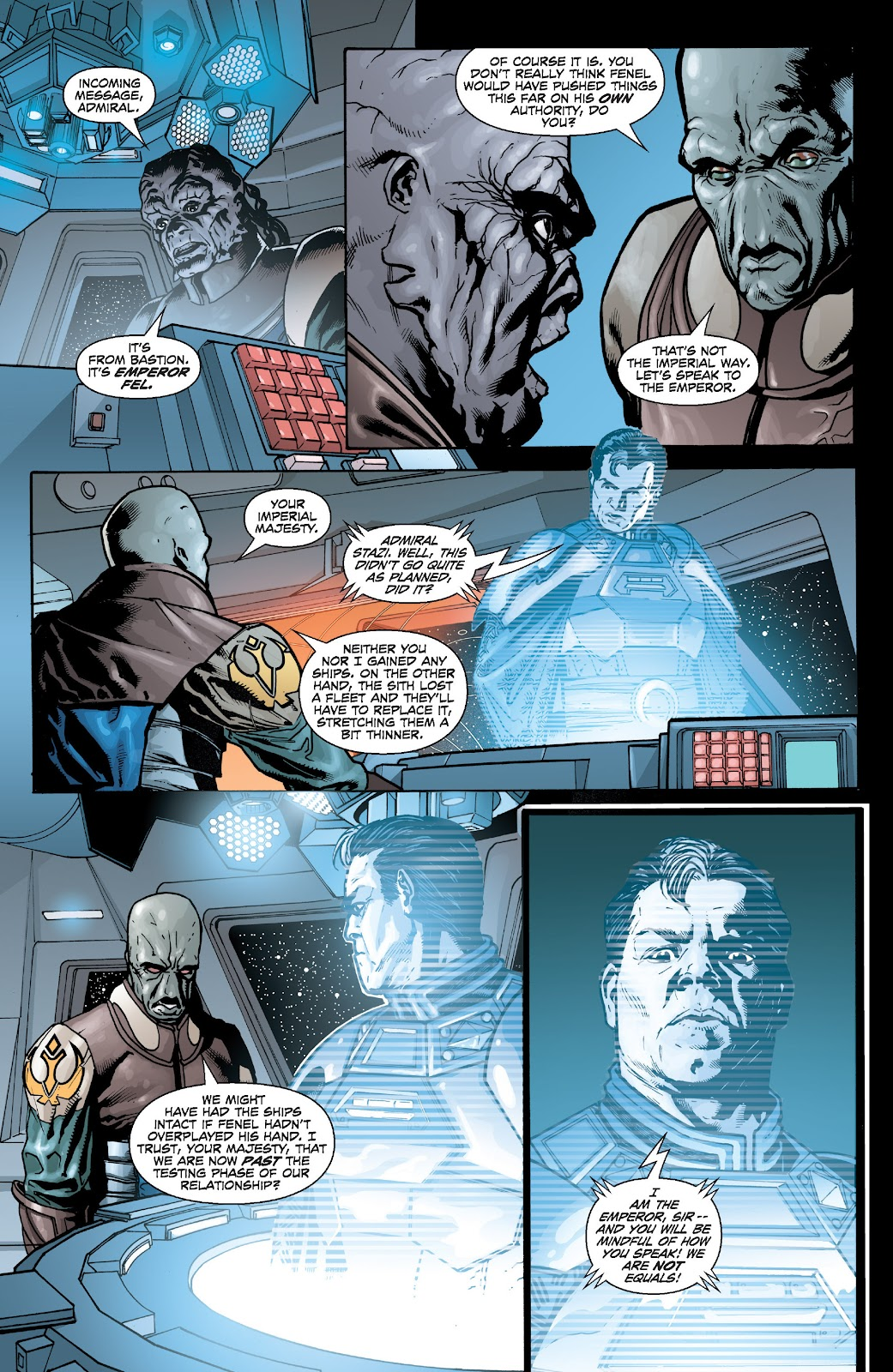 Read online Star Wars Legends: Legacy - Epic Collection comic -  Issue # TPB 2 (Part 5) - 10