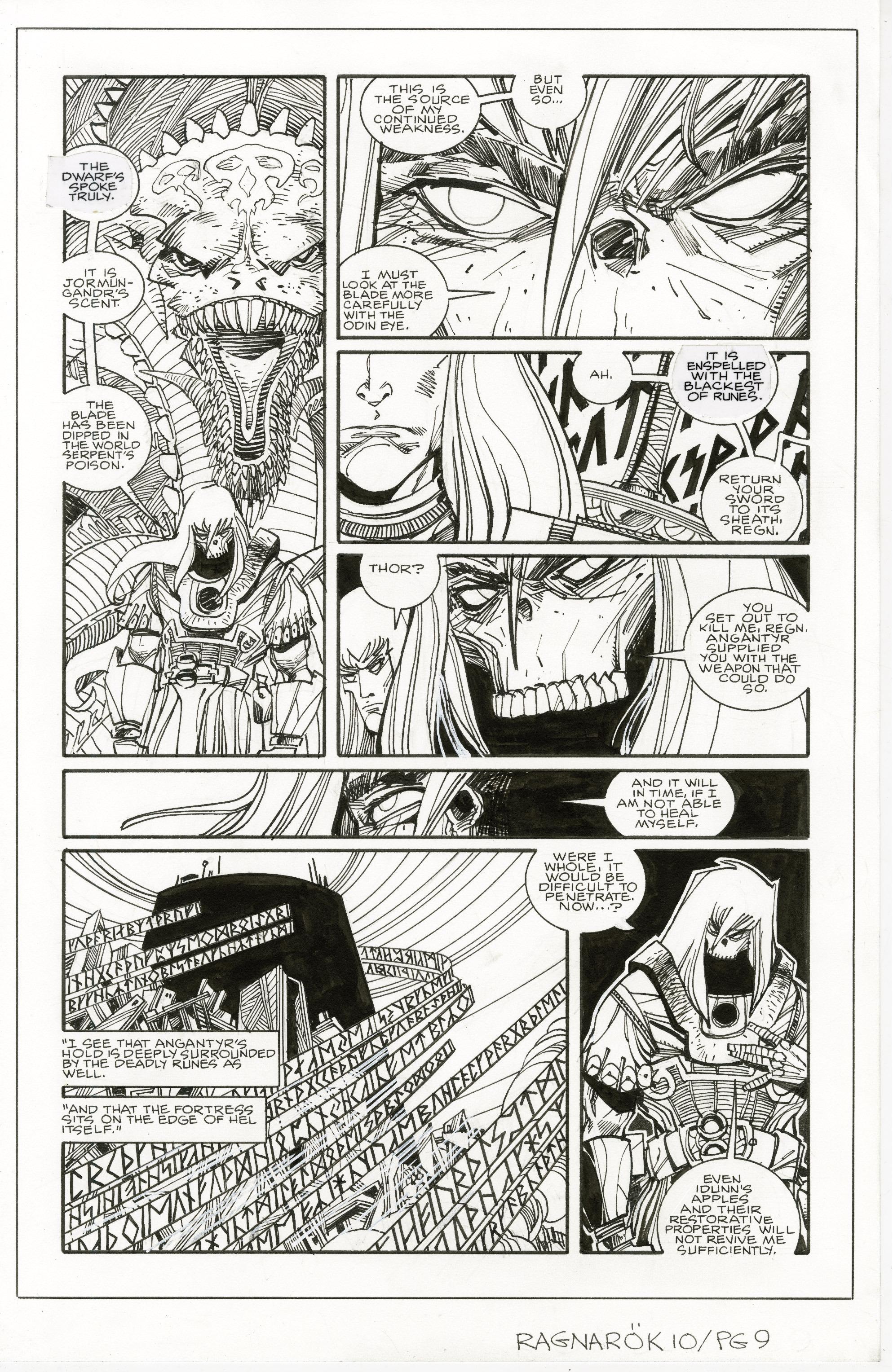 Read online Ragnarok comic -  Issue #10 - 27