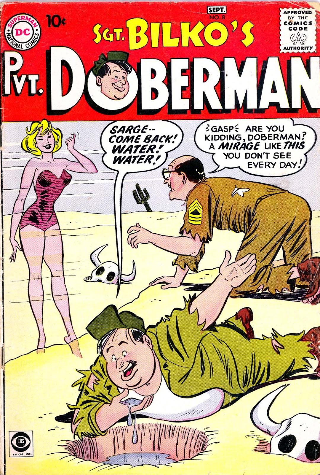 Sgt. Bilko's Pvt. Doberman issue 8 - Page 1