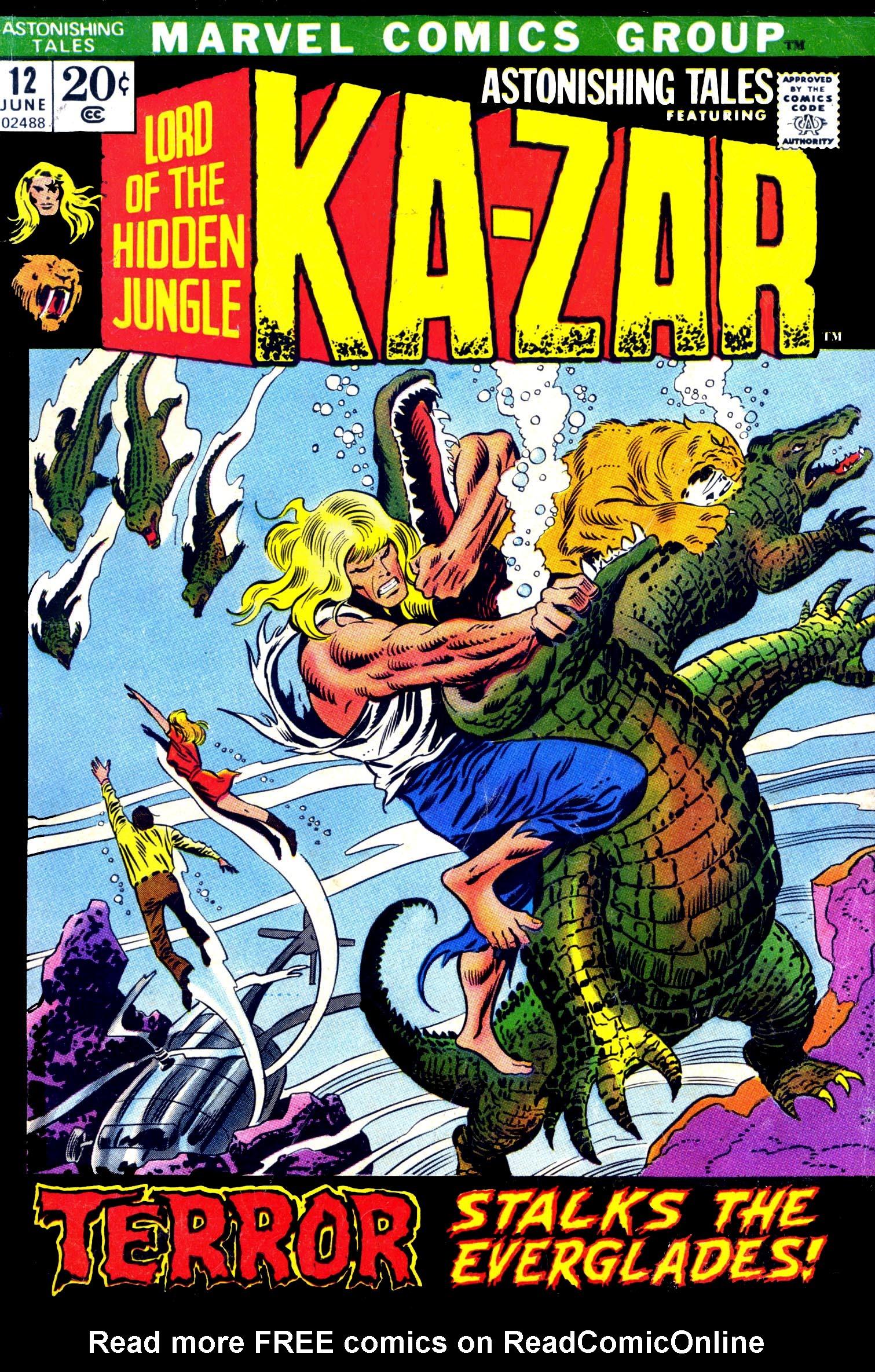 Read online Astonishing Tales (1970) comic -  Issue #12 - 1