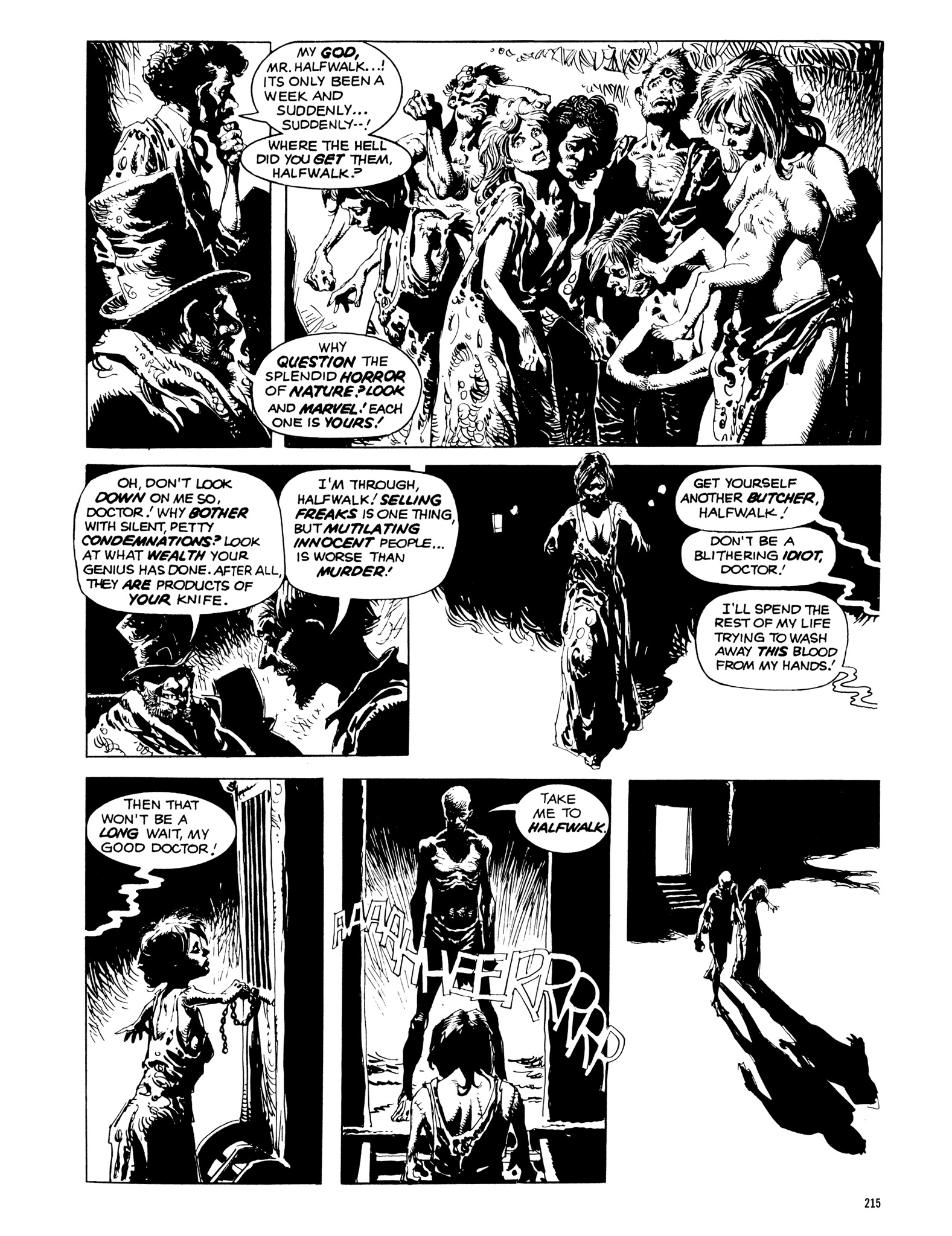Read online Eerie Archives comic -  Issue # TPB 14 - 216
