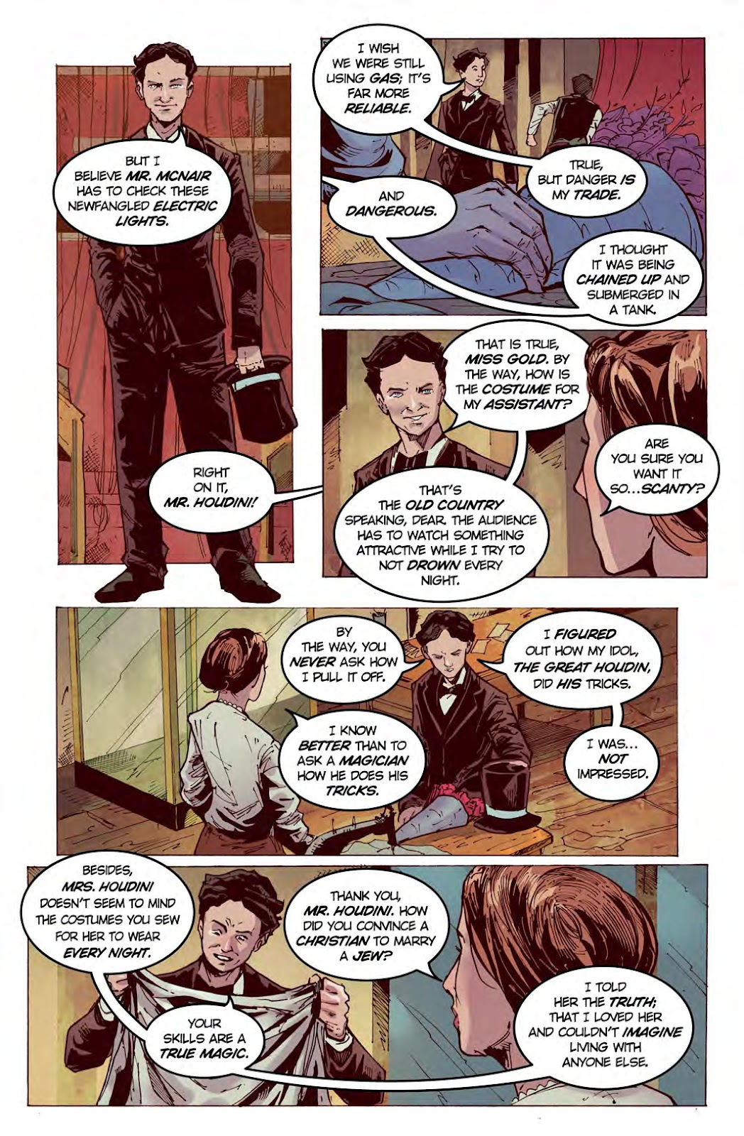 Read online American Dreams comic -  Issue #1 - 10