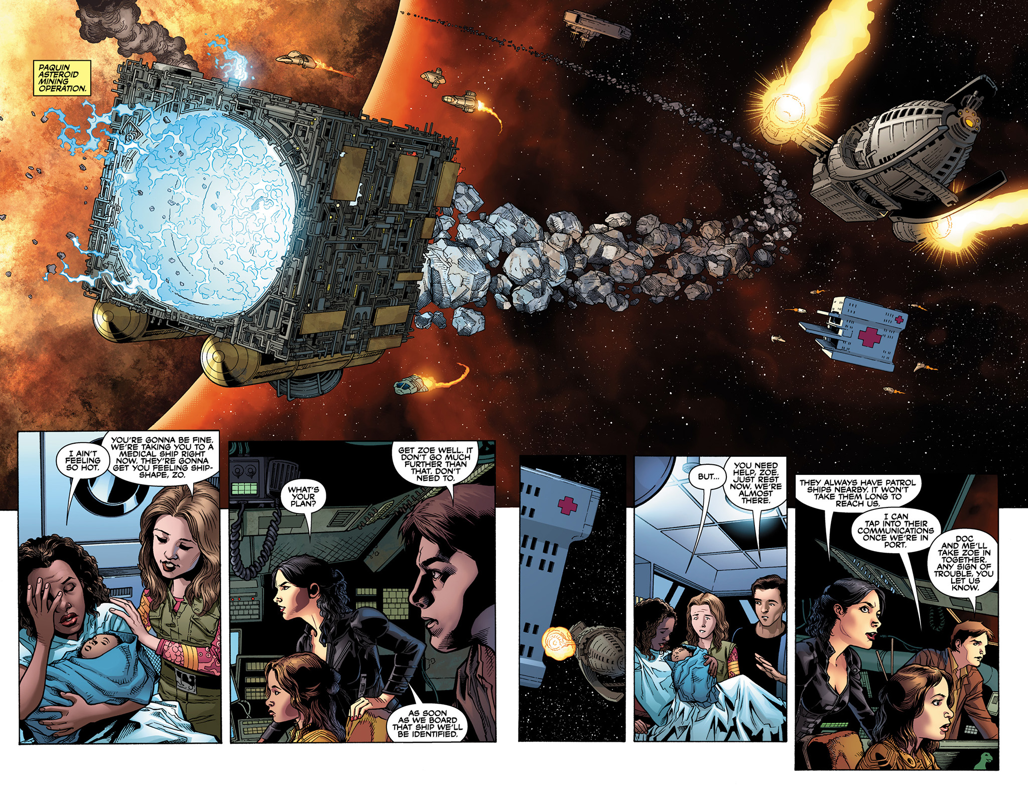 Read online Serenity: Firefly Class 03-K64  Leaves on the Wind comic -  Issue #2 - 6