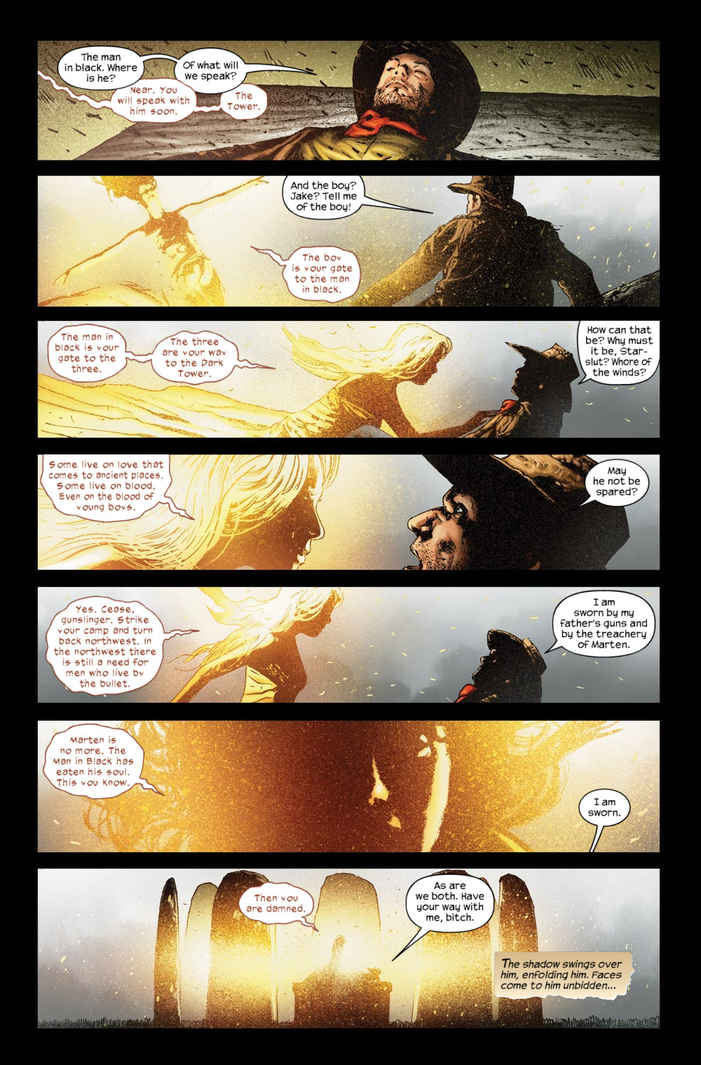 Read online Dark Tower: The Gunslinger - The Way Station comic -  Issue #5 - 15