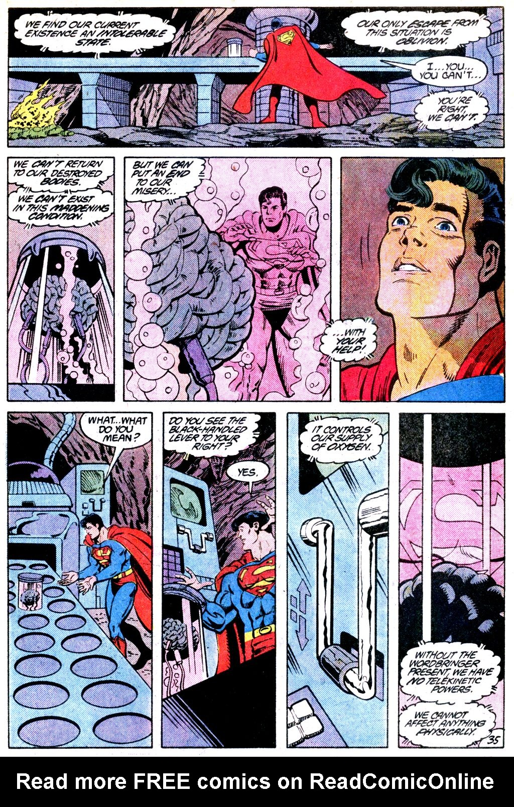 Read online Adventures of Superman (1987) comic -  Issue #Adventures of Superman (1987) _Annual 1 - 36