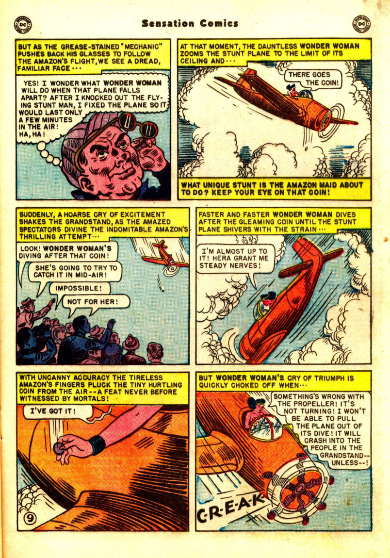 Read online Sensation (Mystery) Comics comic -  Issue #99 - 11