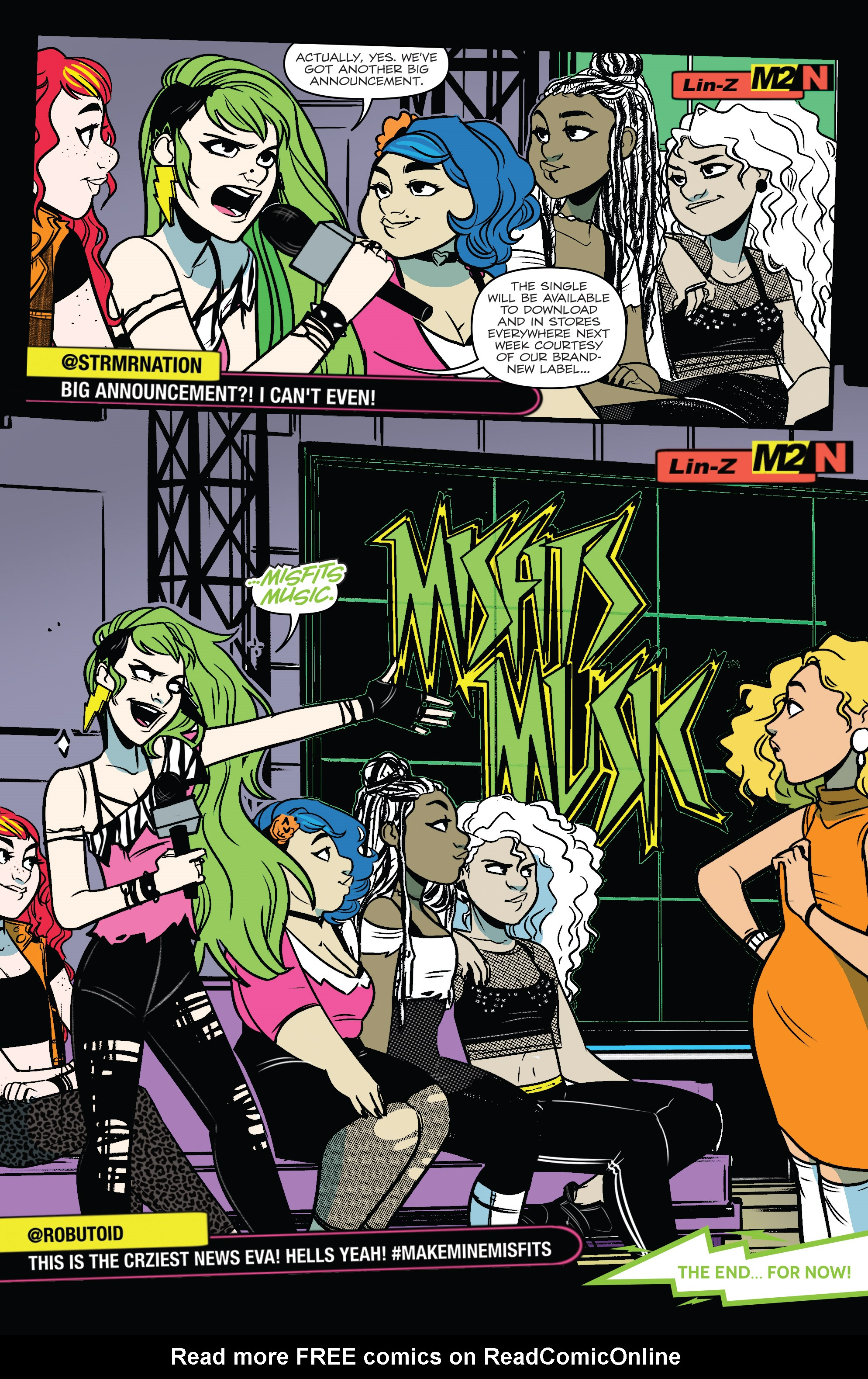 Read online Jem: The Misfits comic -  Issue #5 - 23