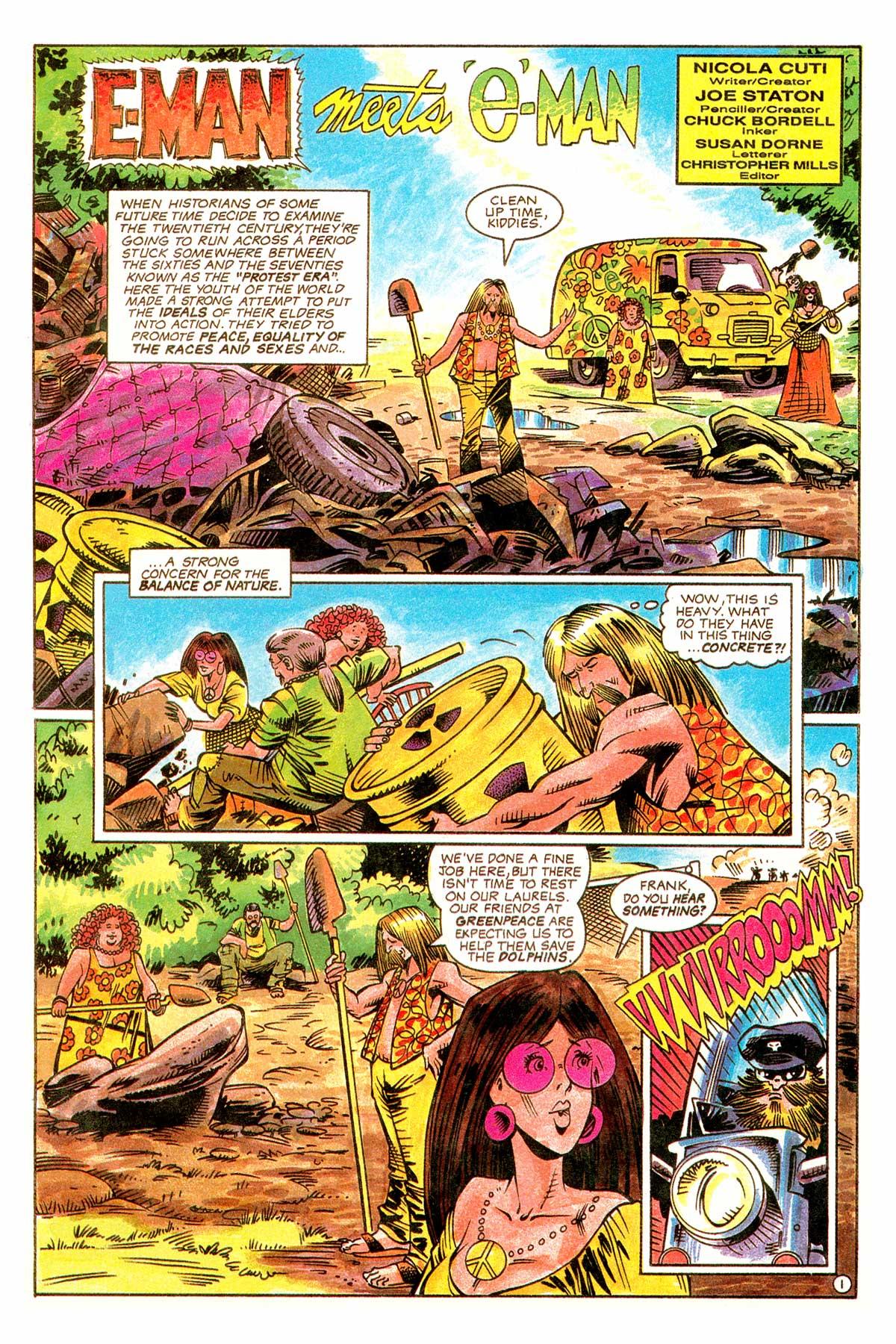 Read online E-man (1993) comic -  Issue # Full - 4