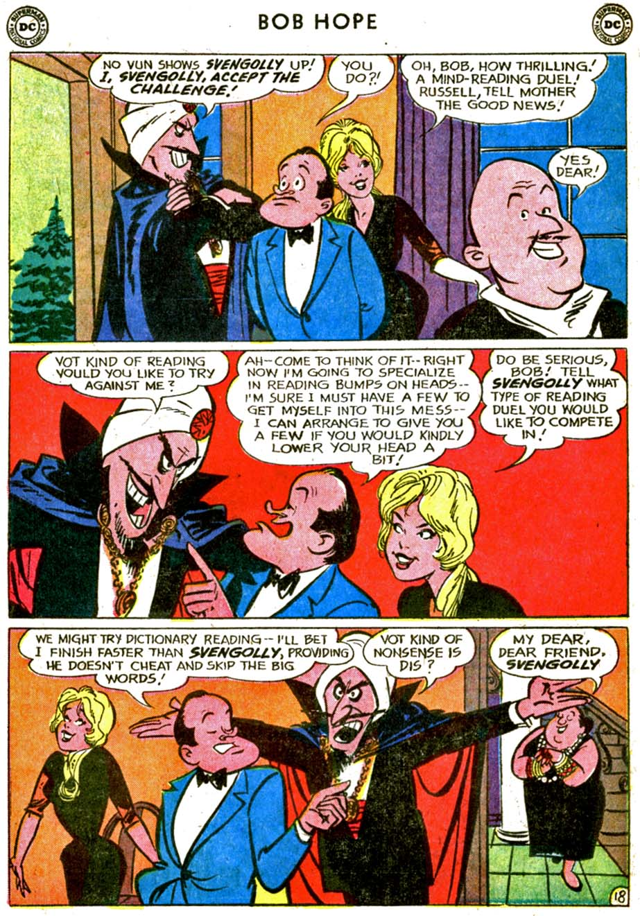 The Adventures of Bob Hope issue 77 - Page 26