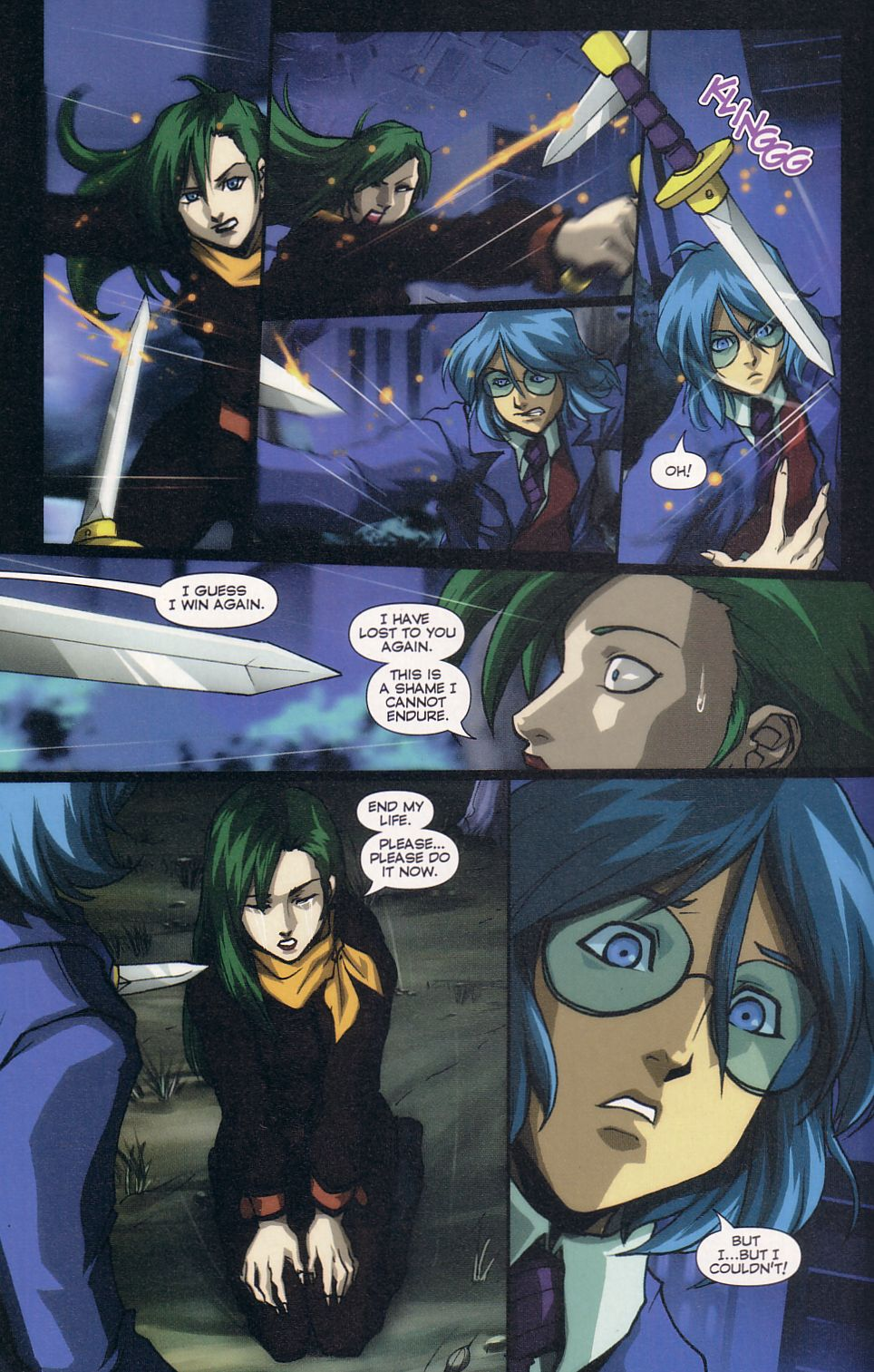 Read online Robotech: Love and War comic -  Issue #6 - 6