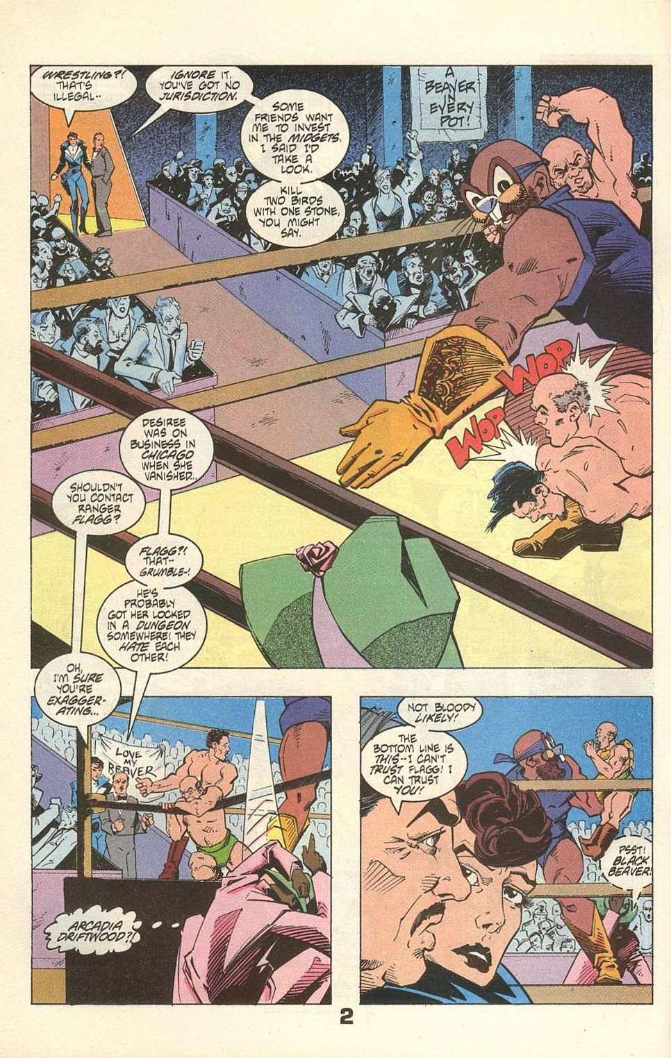 Read online American Flagg! comic -  Issue #31 - 4