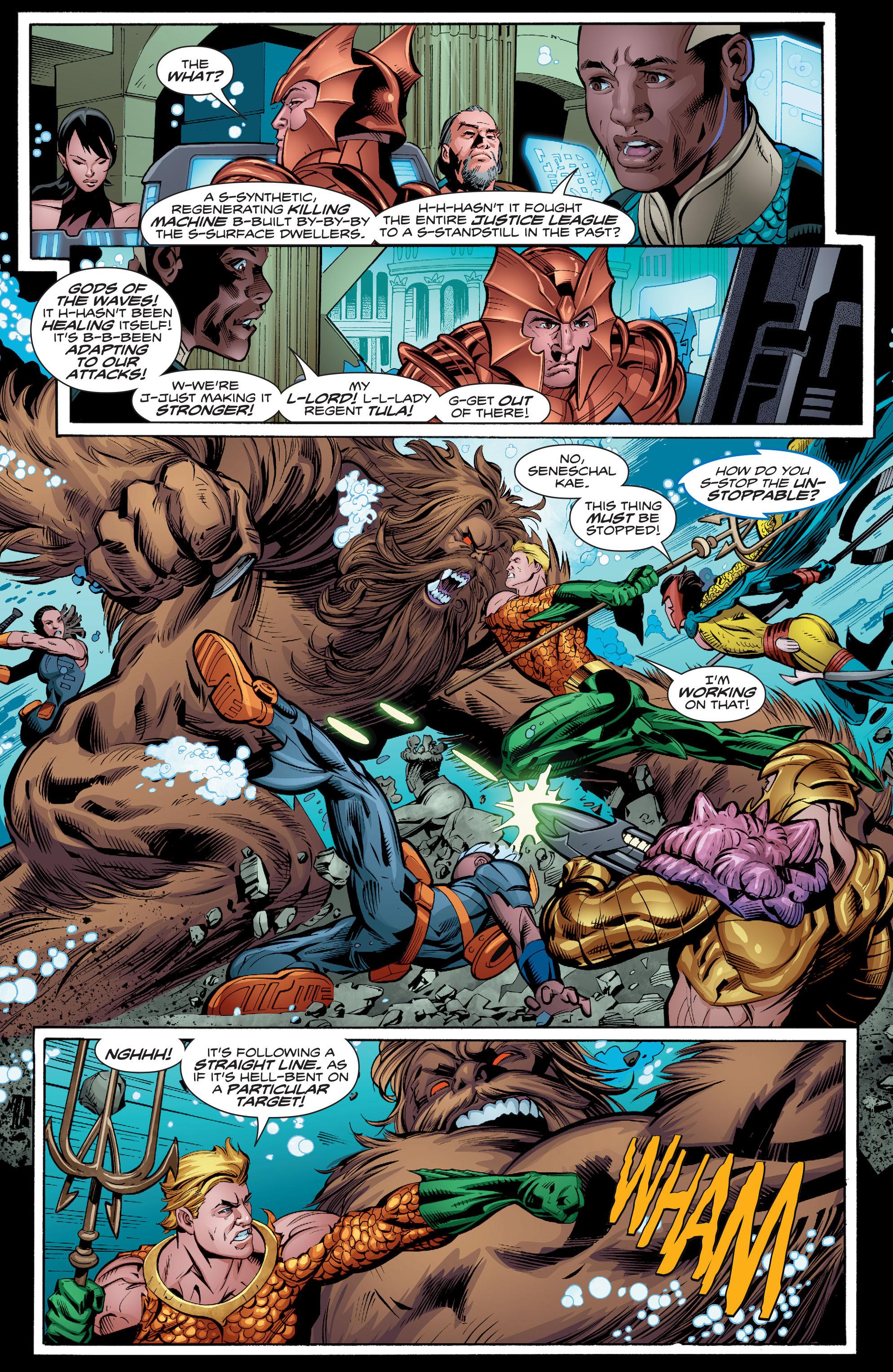 Read online Aquaman (2016) comic -  Issue #8 - 21