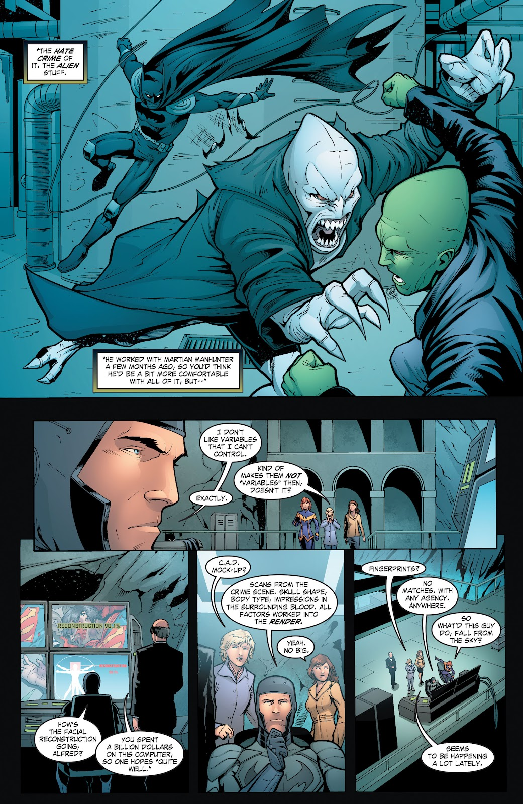 Read online Smallville Season 11 [II] comic -  Issue # TPB 6 - 104