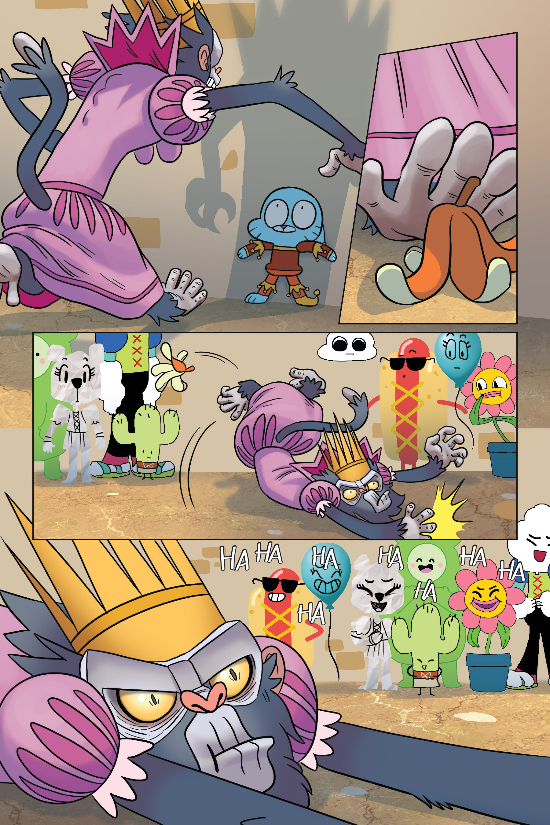 Read online The Amazing World of Gumball: Fairy Tale Trouble comic -  Issue # Full - 129