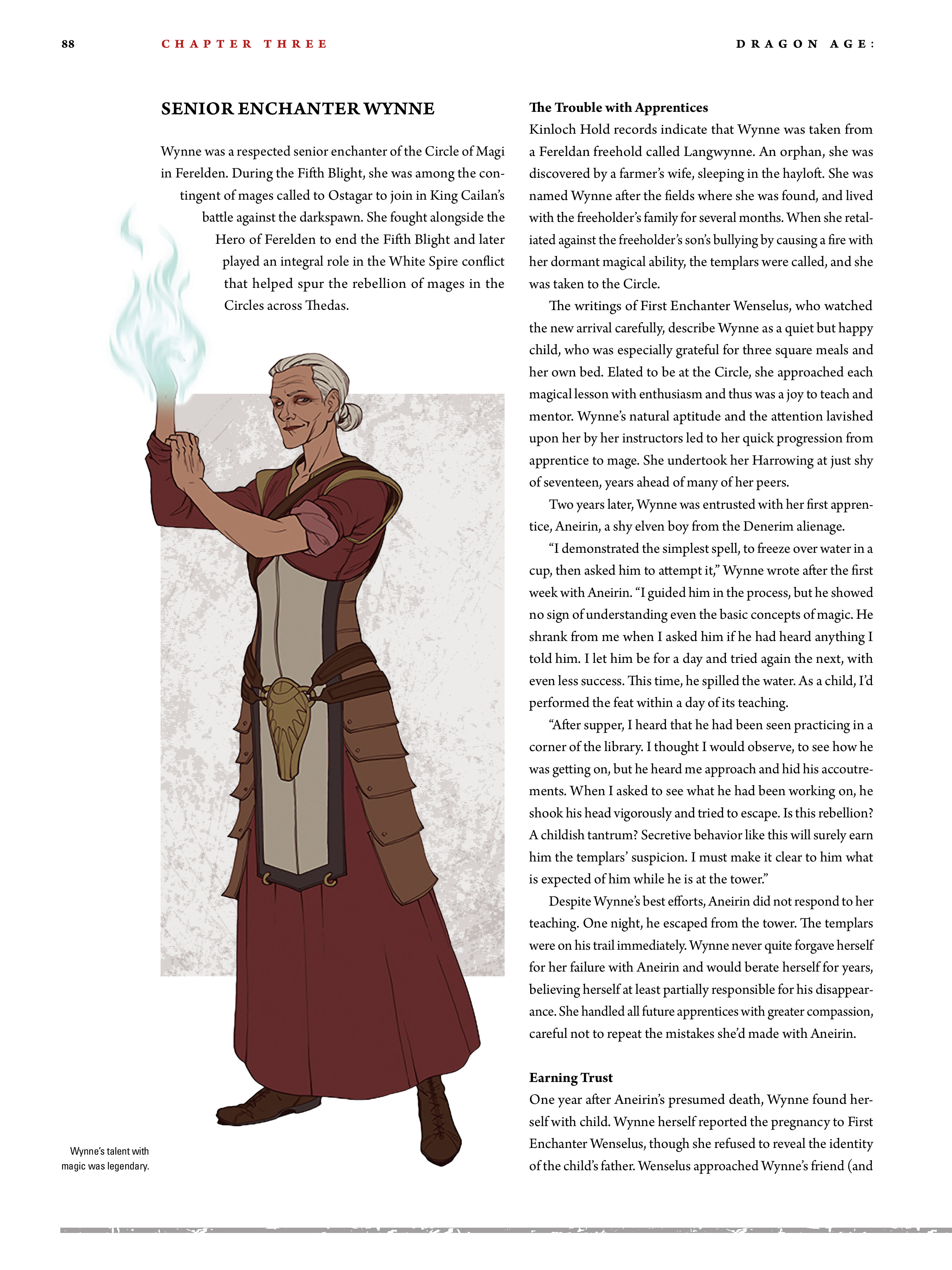 Read online Dragon Age: The World of Thedas comic -  Issue # TPB 2 - 84