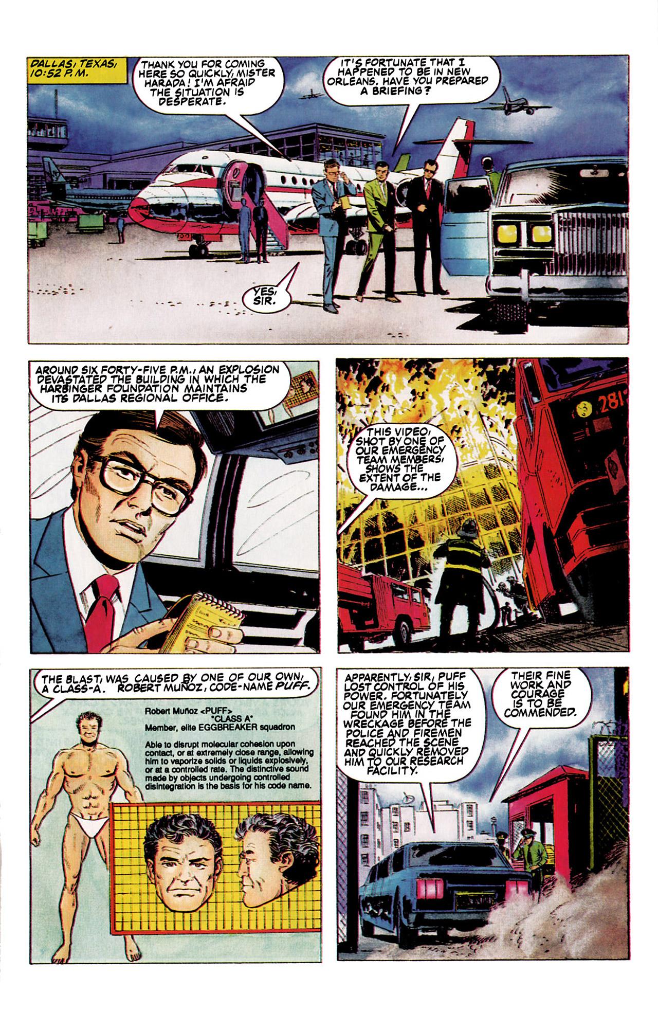 Read online Harbinger (1992) comic -  Issue #5 - 8