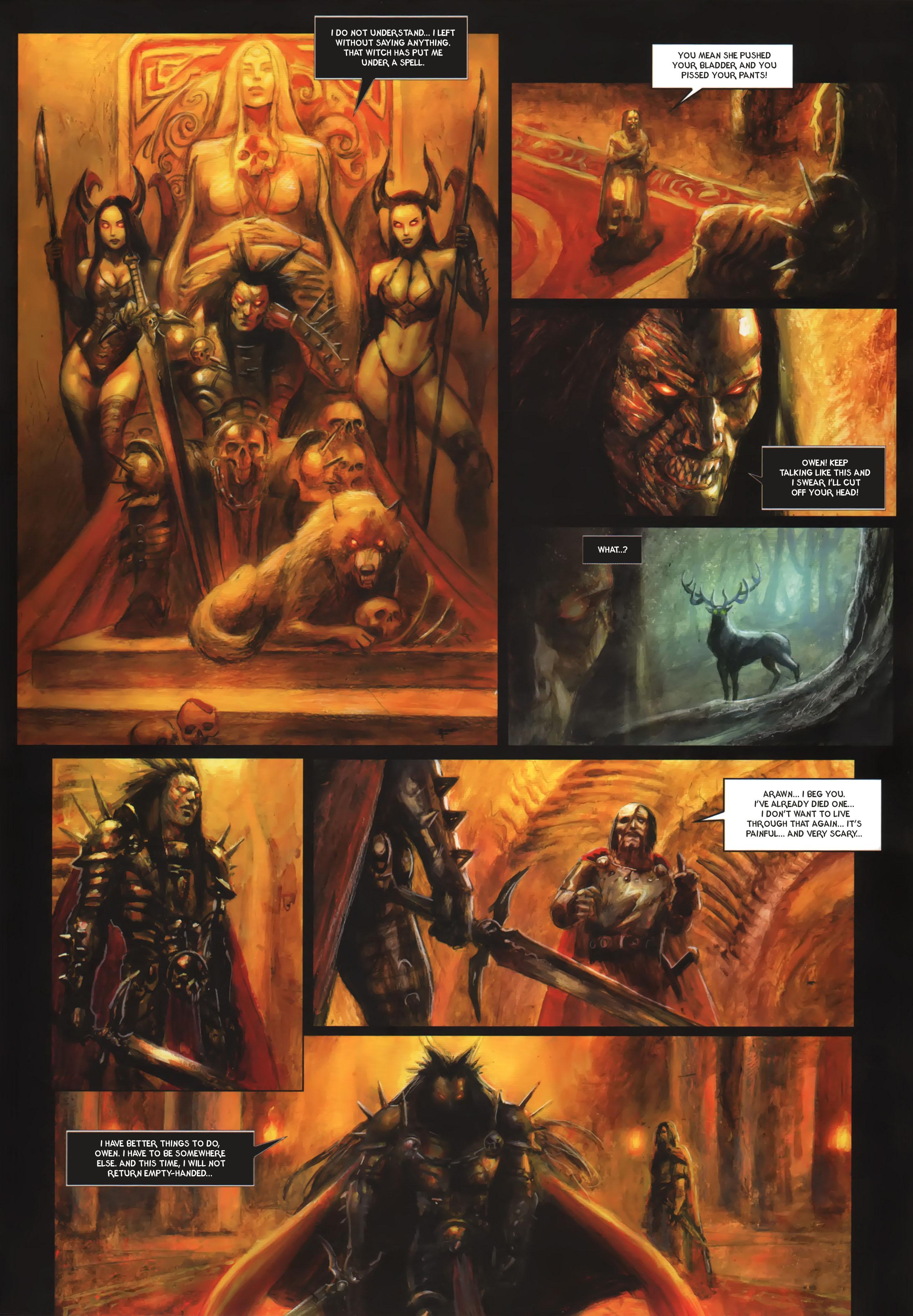 Read online Arawn comic -  Issue #6 - 48