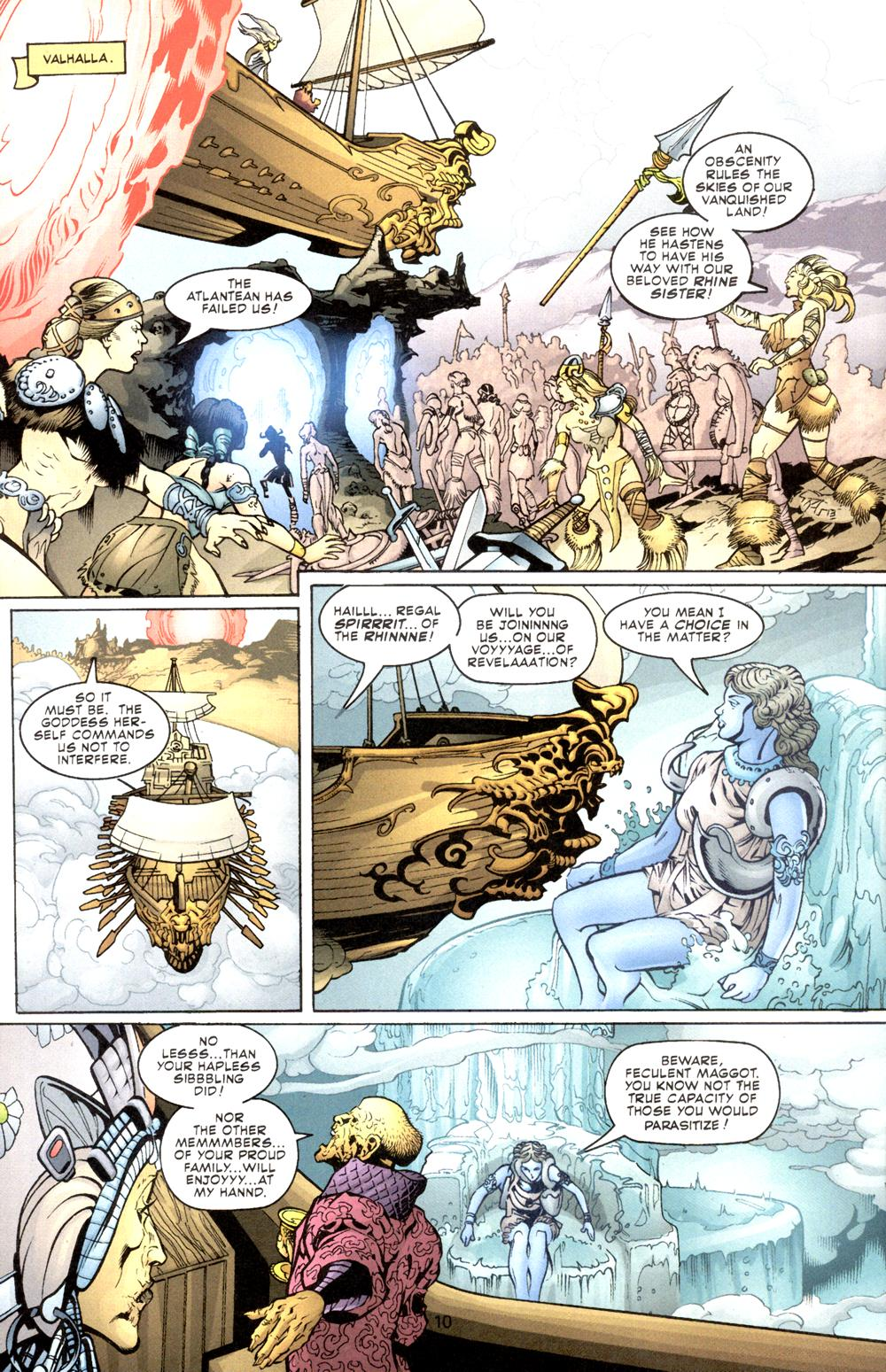 Read online Aquaman (2003) comic -  Issue #8 - 11