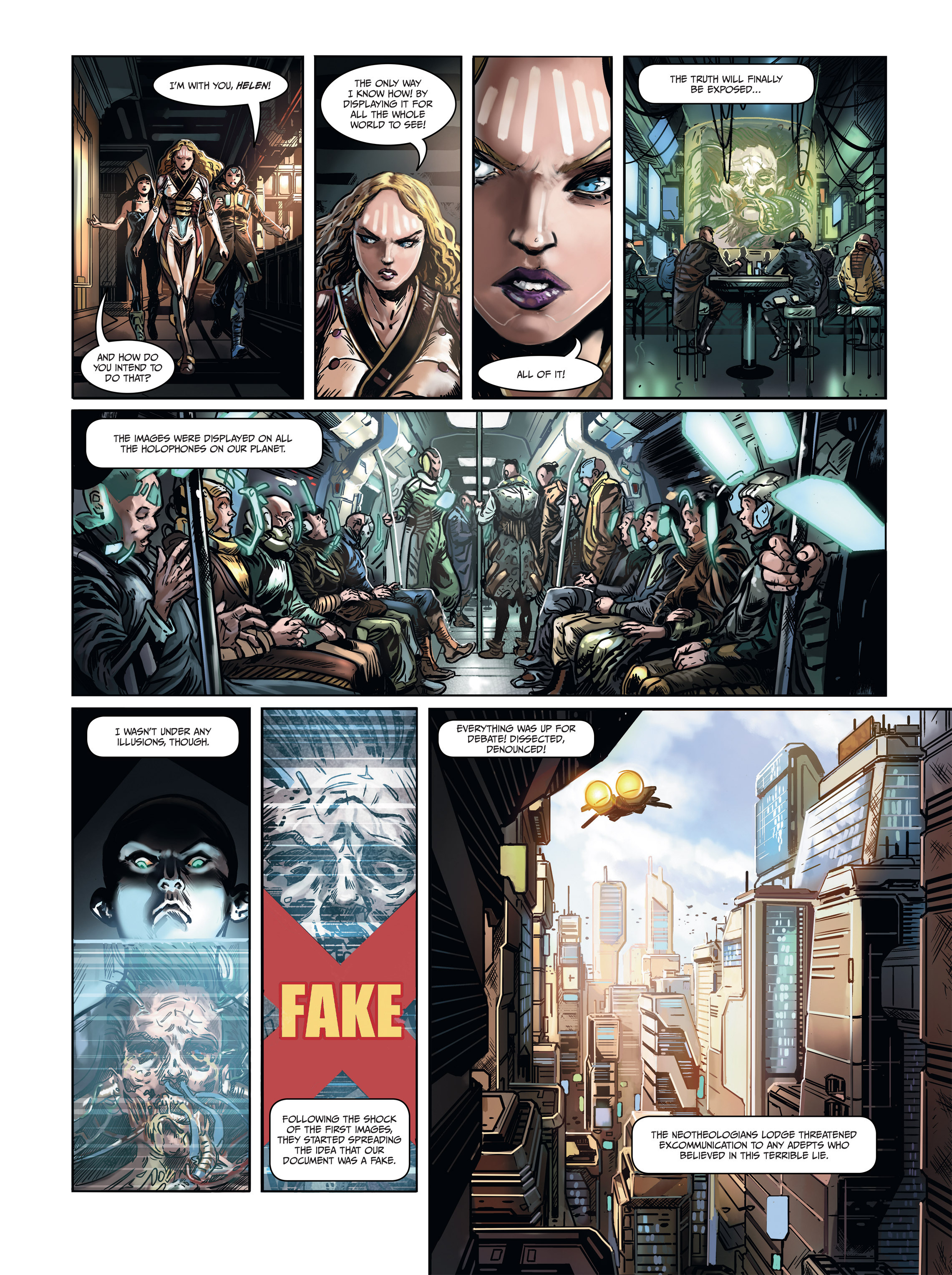 Read online Androïds comic -  Issue #1 - 56