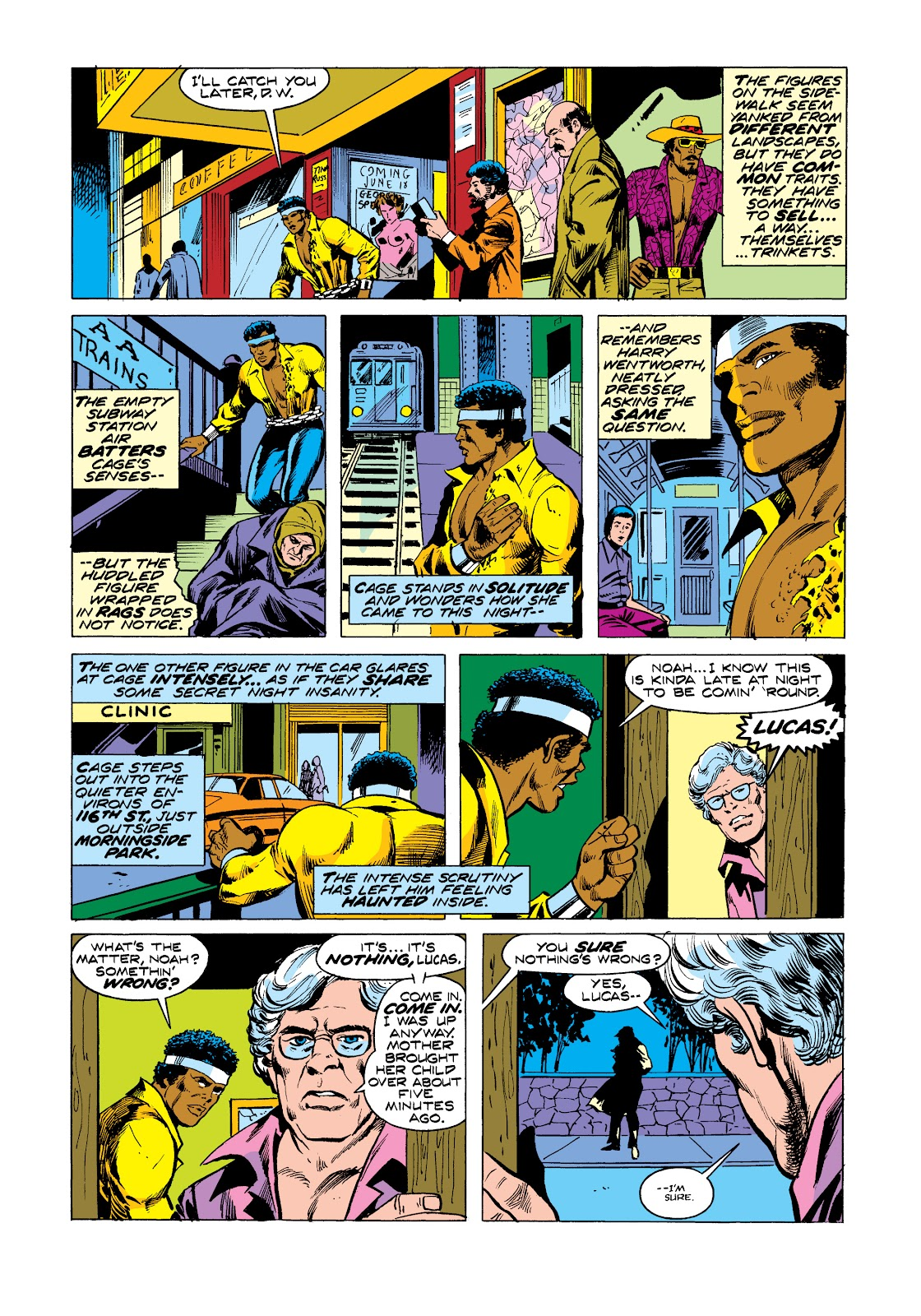 Read online Marvel Masterworks: Luke Cage, Power Man comic -  Issue # TPB 2 (Part 3) - 30