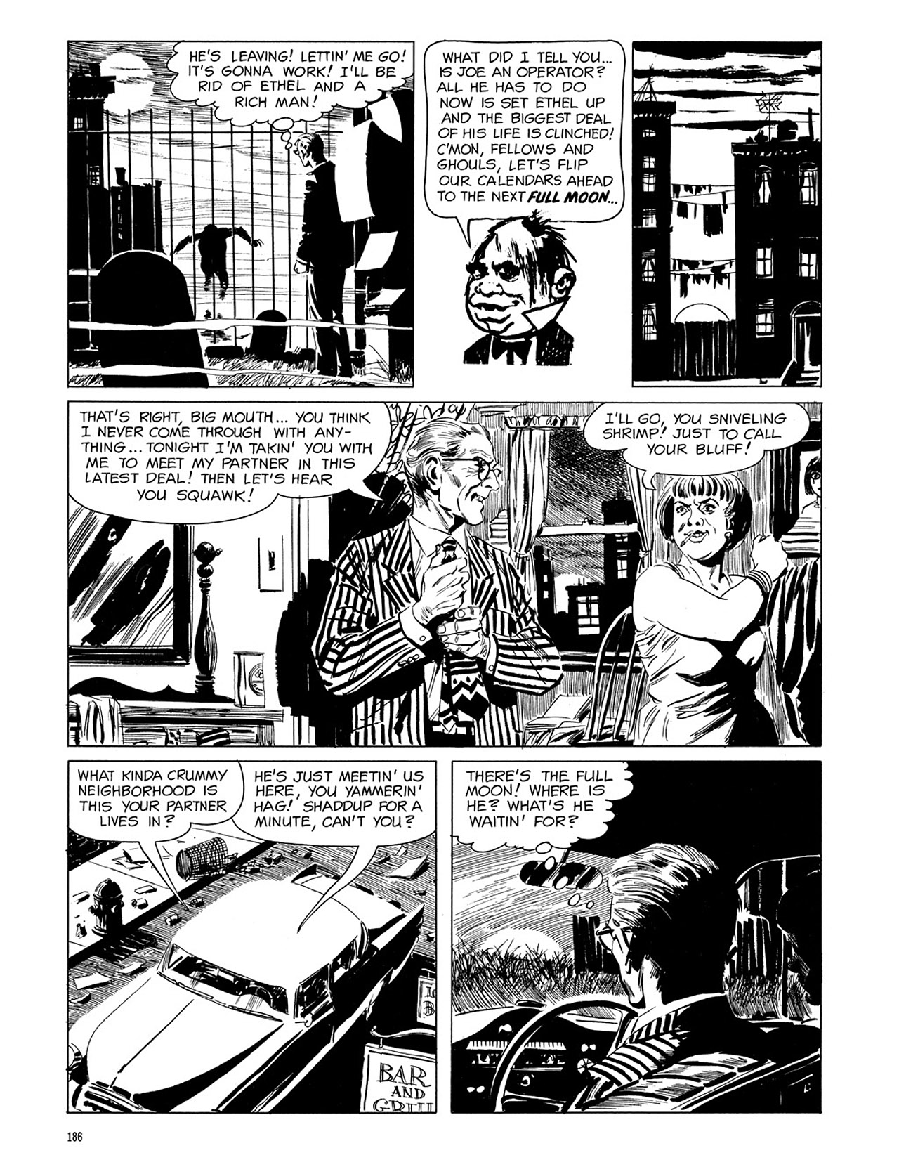 Read online Eerie Archives comic -  Issue # TPB 3 - 187