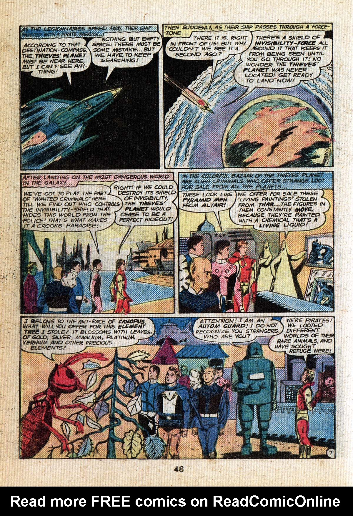 Read online Adventure Comics (1938) comic -  Issue #500 - 48