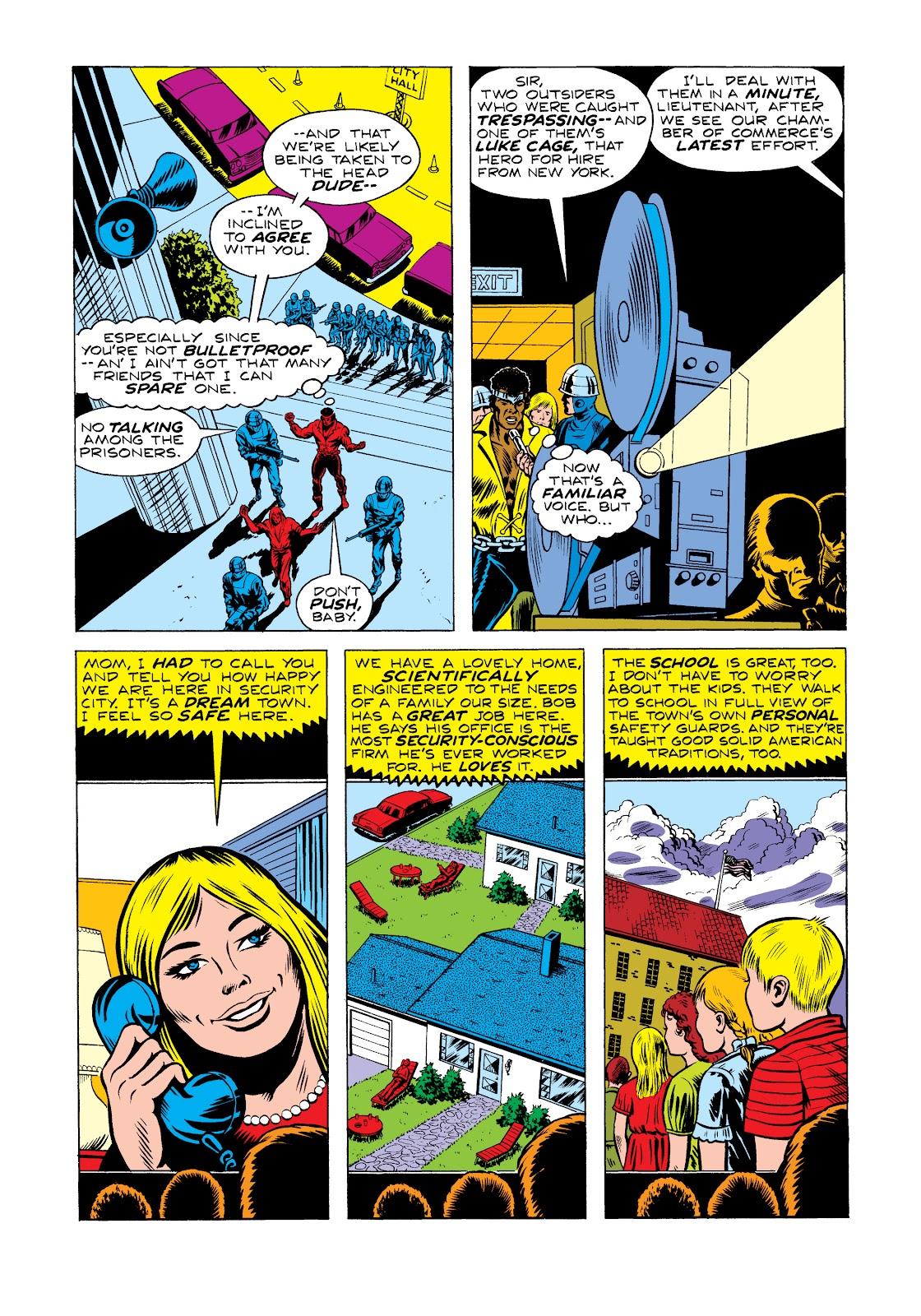 Read online Marvel Masterworks: Luke Cage, Power Man comic -  Issue # TPB 2 (Part 2) - 36