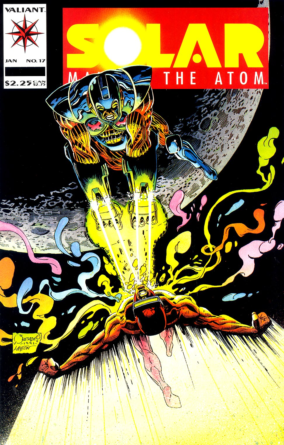 Read online Solar, Man of the Atom comic -  Issue #17 - 1