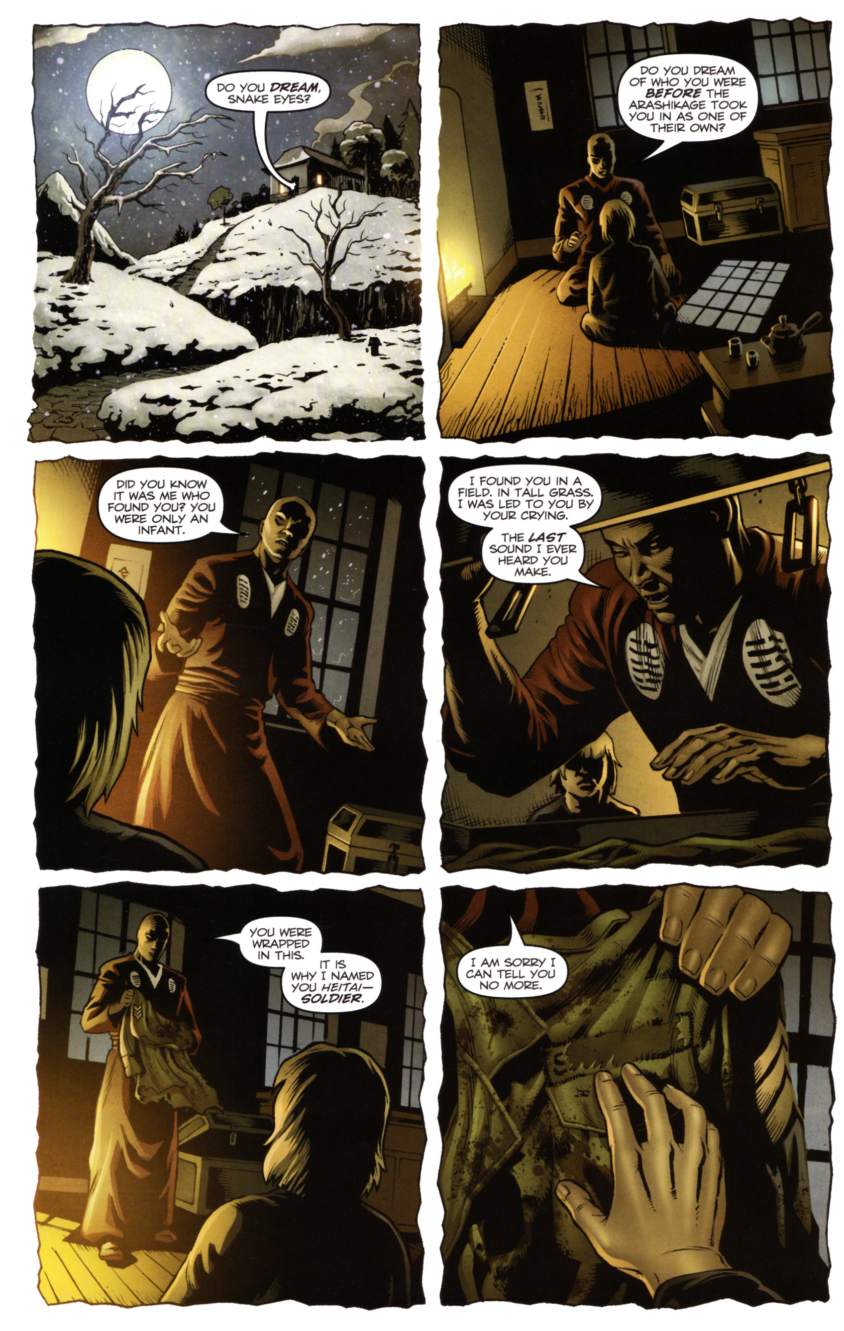 Read online Snake Eyes and Storm Shadow comic -  Issue #14 - 14