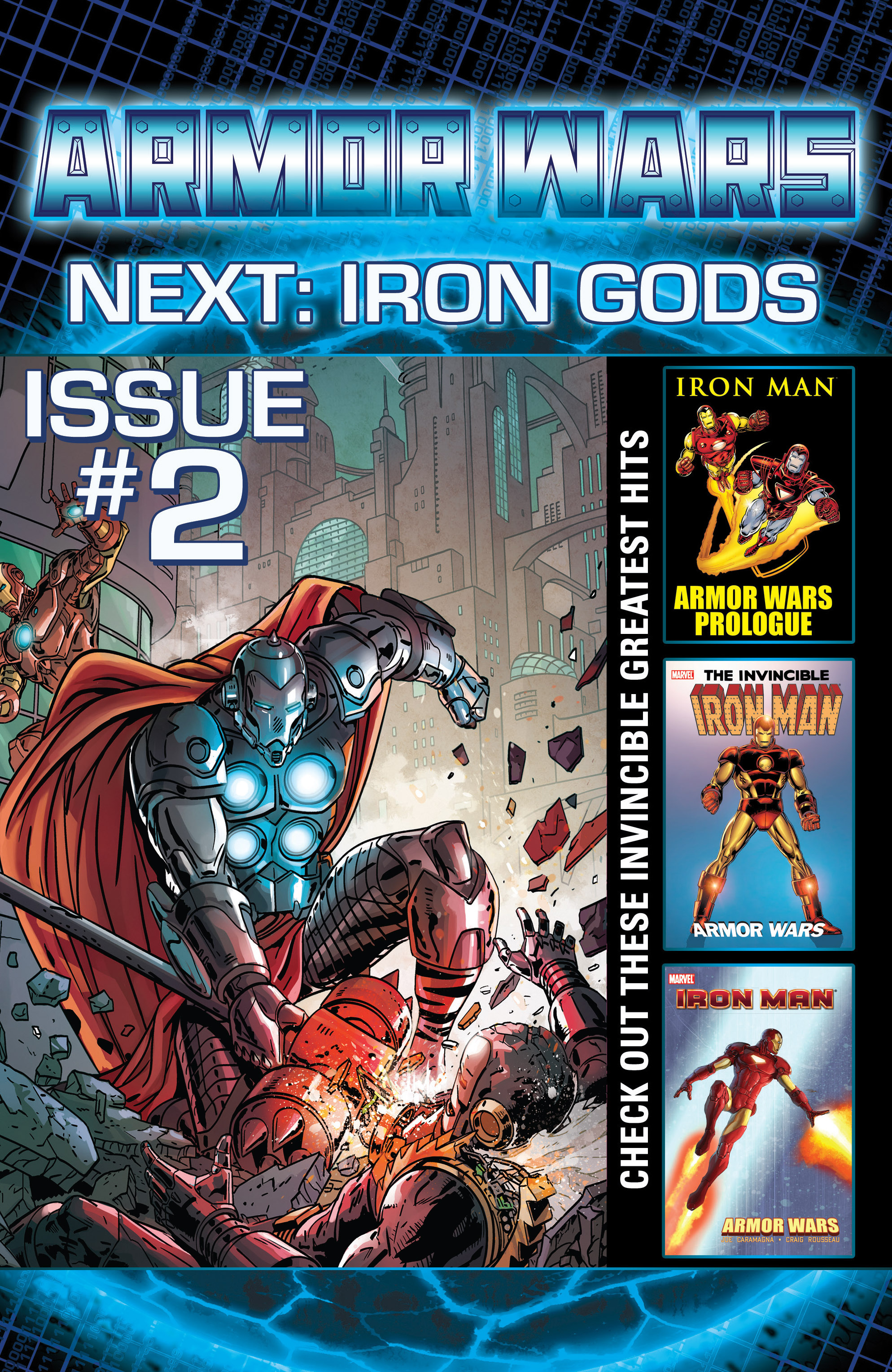 Read online Armor Wars comic -  Issue #1 - 23