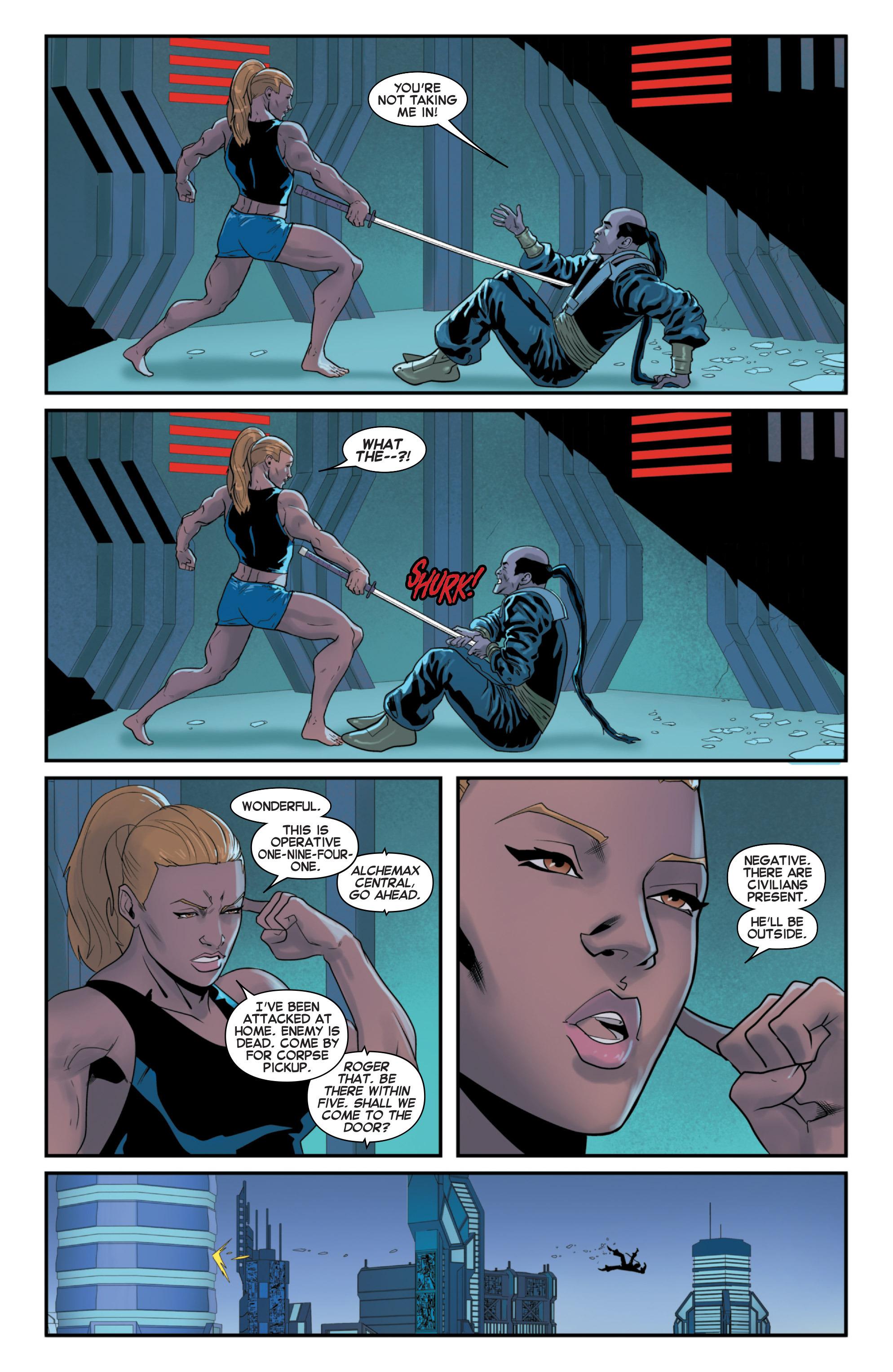 Read online Secret Wars 2099 comic -  Issue #2 - 7