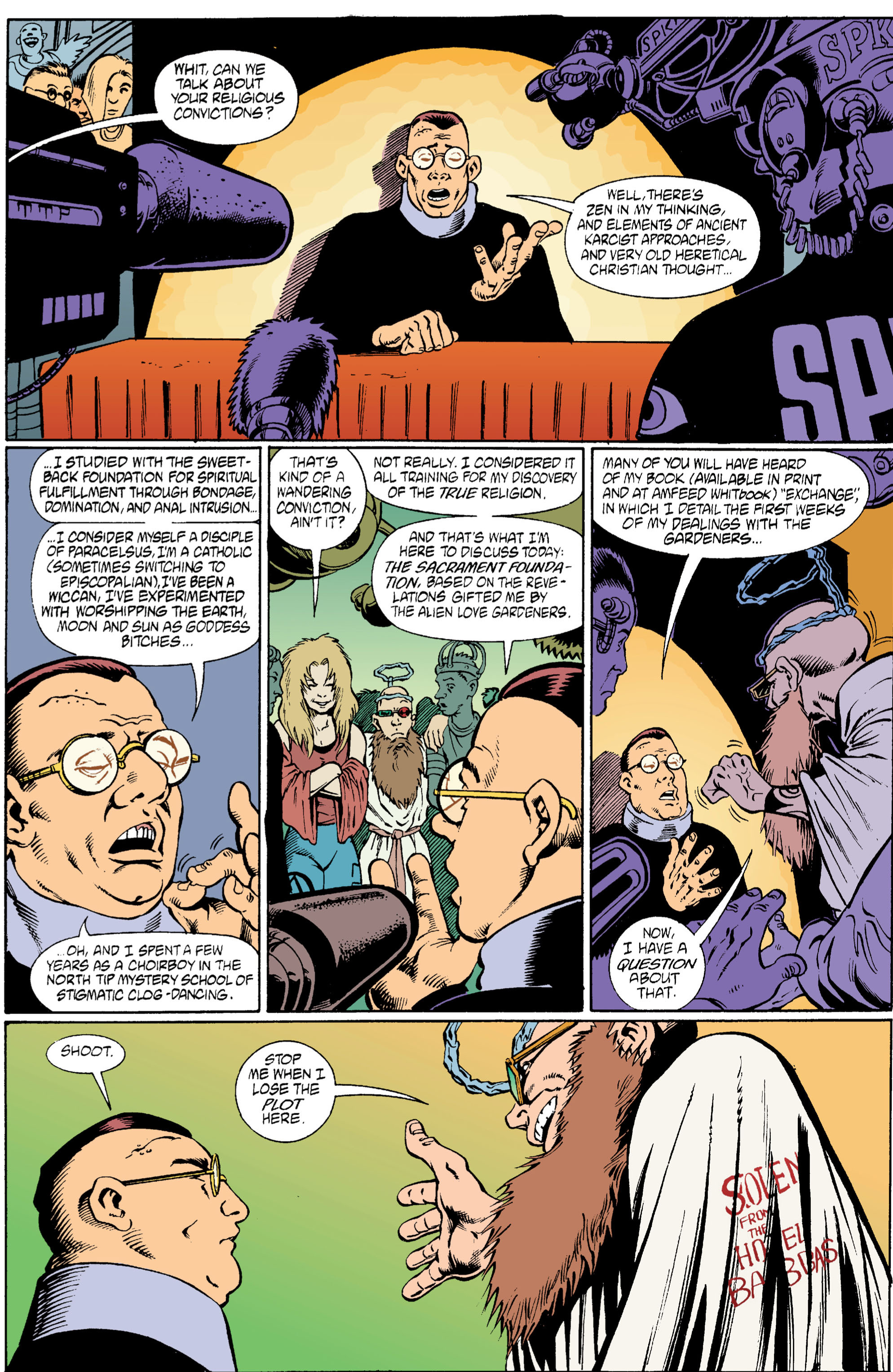 Read online Transmetropolitan comic -  Issue #6 - 16