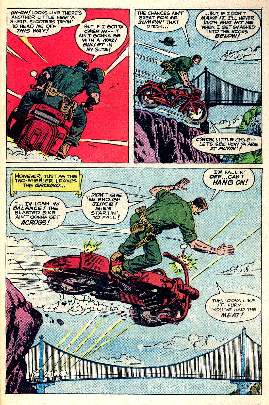 Read online Sgt. Fury comic -  Issue #53 - 23