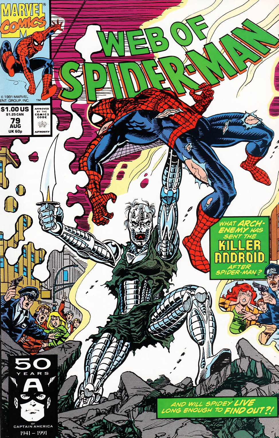 Web of Spider-Man (1985) 79 Page 1