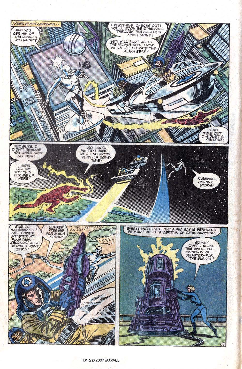 Read online Silver Surfer (1982) comic -  Issue # Full - 16