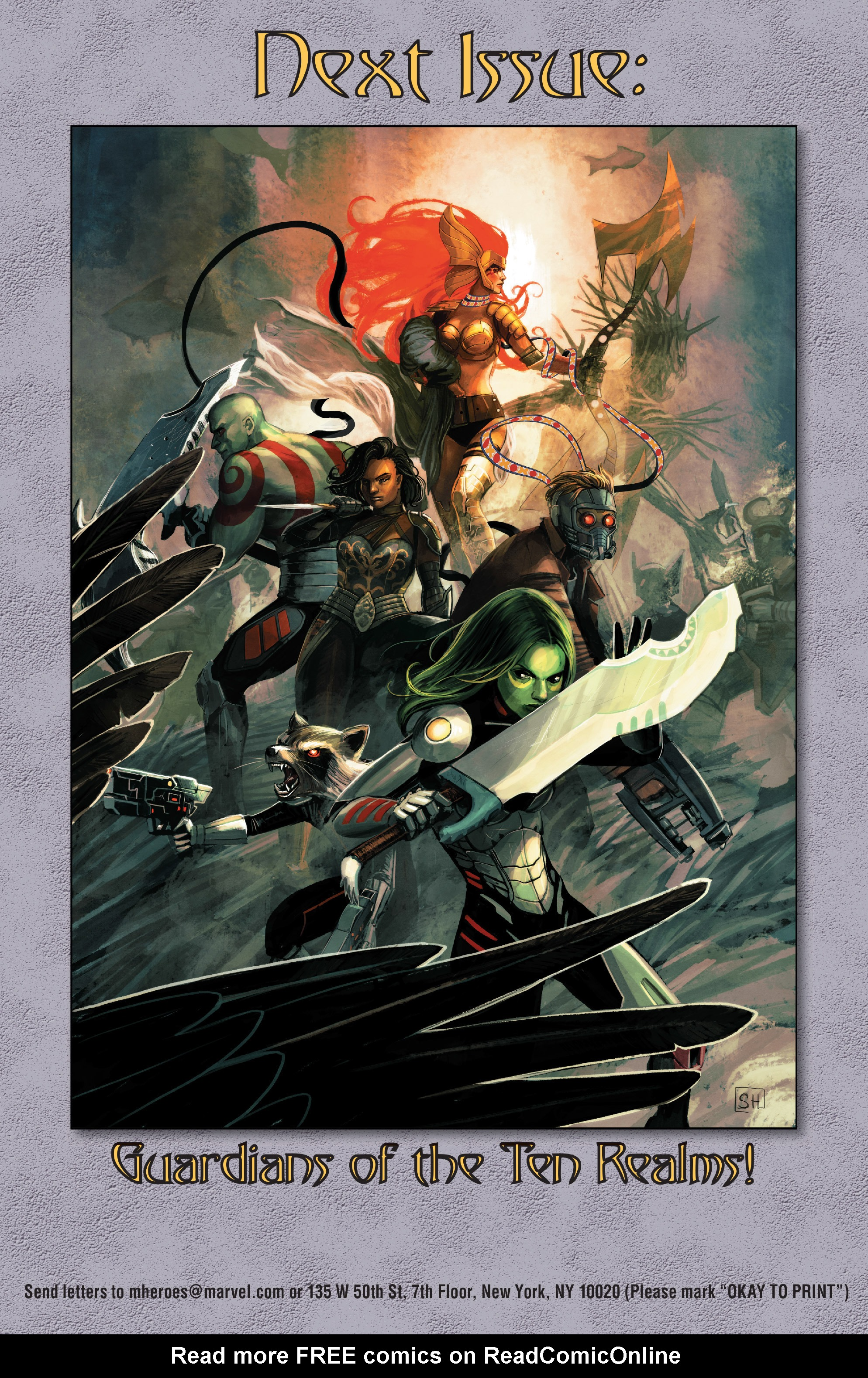 Read online Angela: Asgard's Assassin comic -  Issue #4 - 22