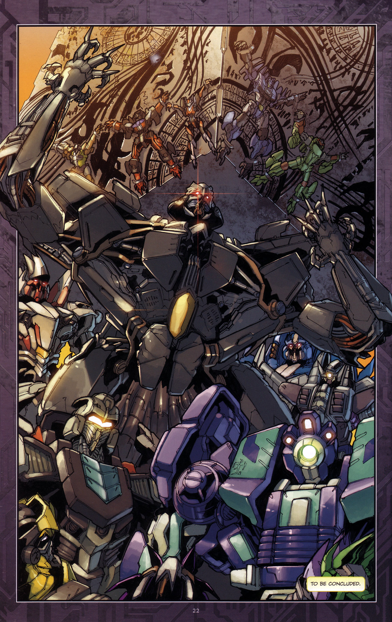 Read online Transformers: The Reign of Starscream comic -  Issue #4 - 24
