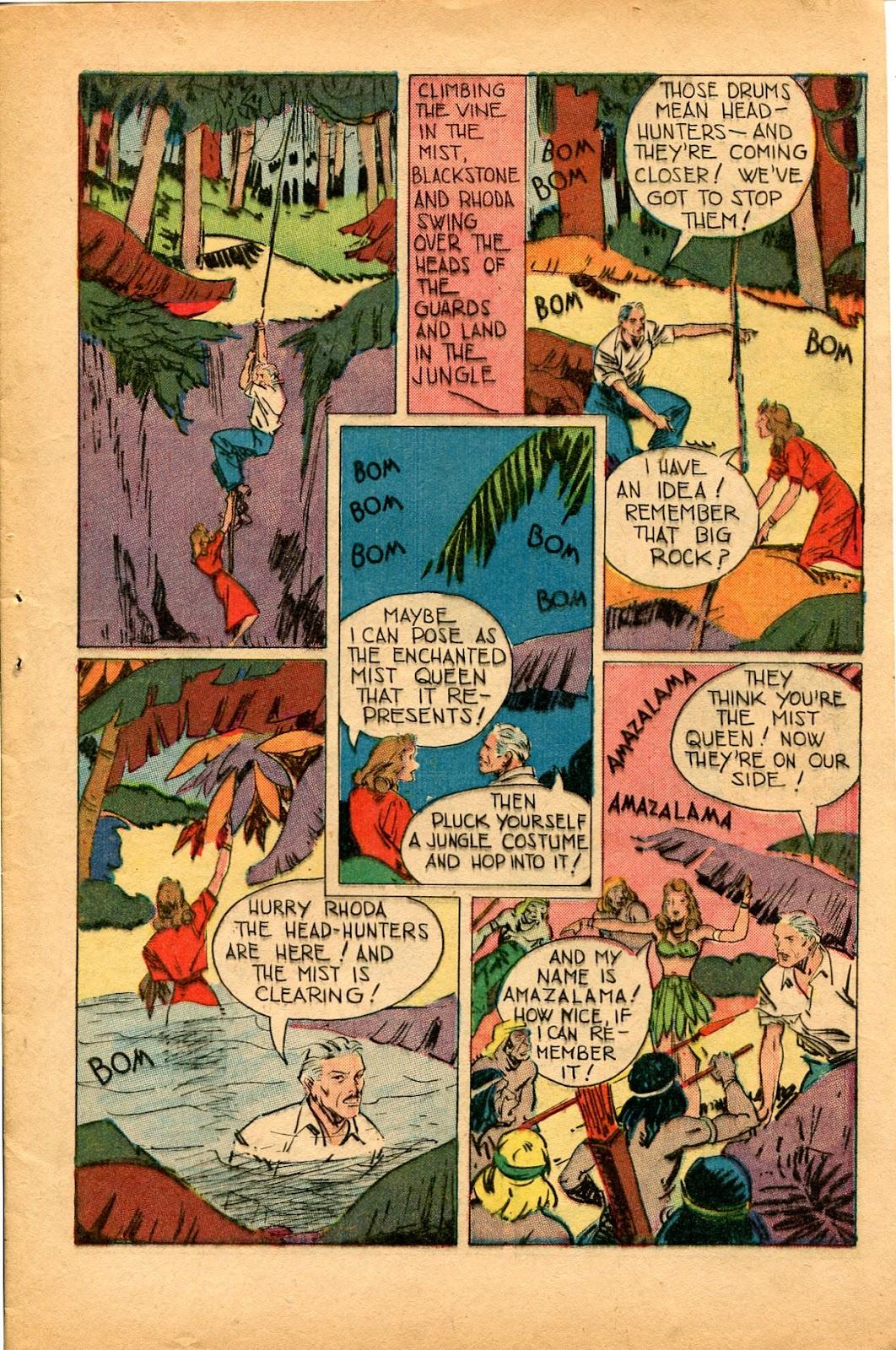 Read online Super-Magician Comics comic -  Issue #33 - 13