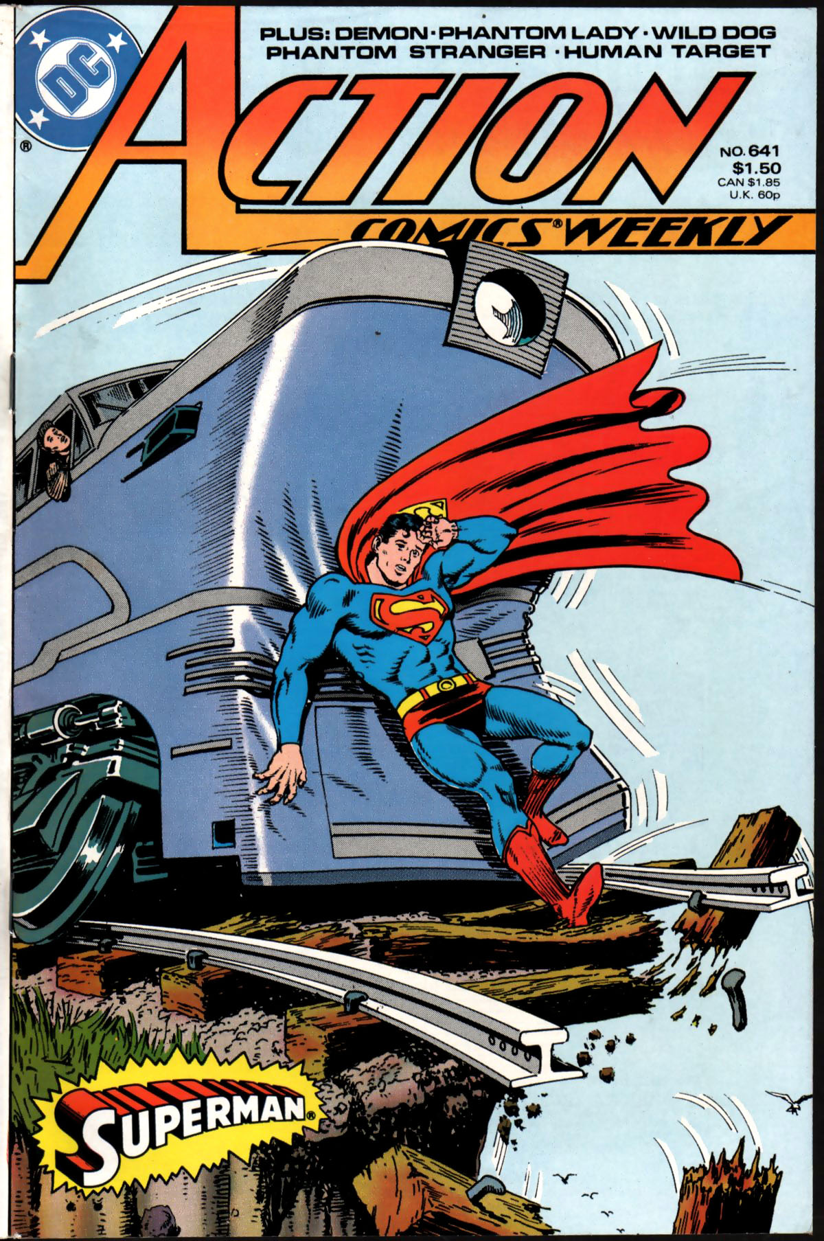 Read online Action Comics (1938) comic -  Issue #641 - 1