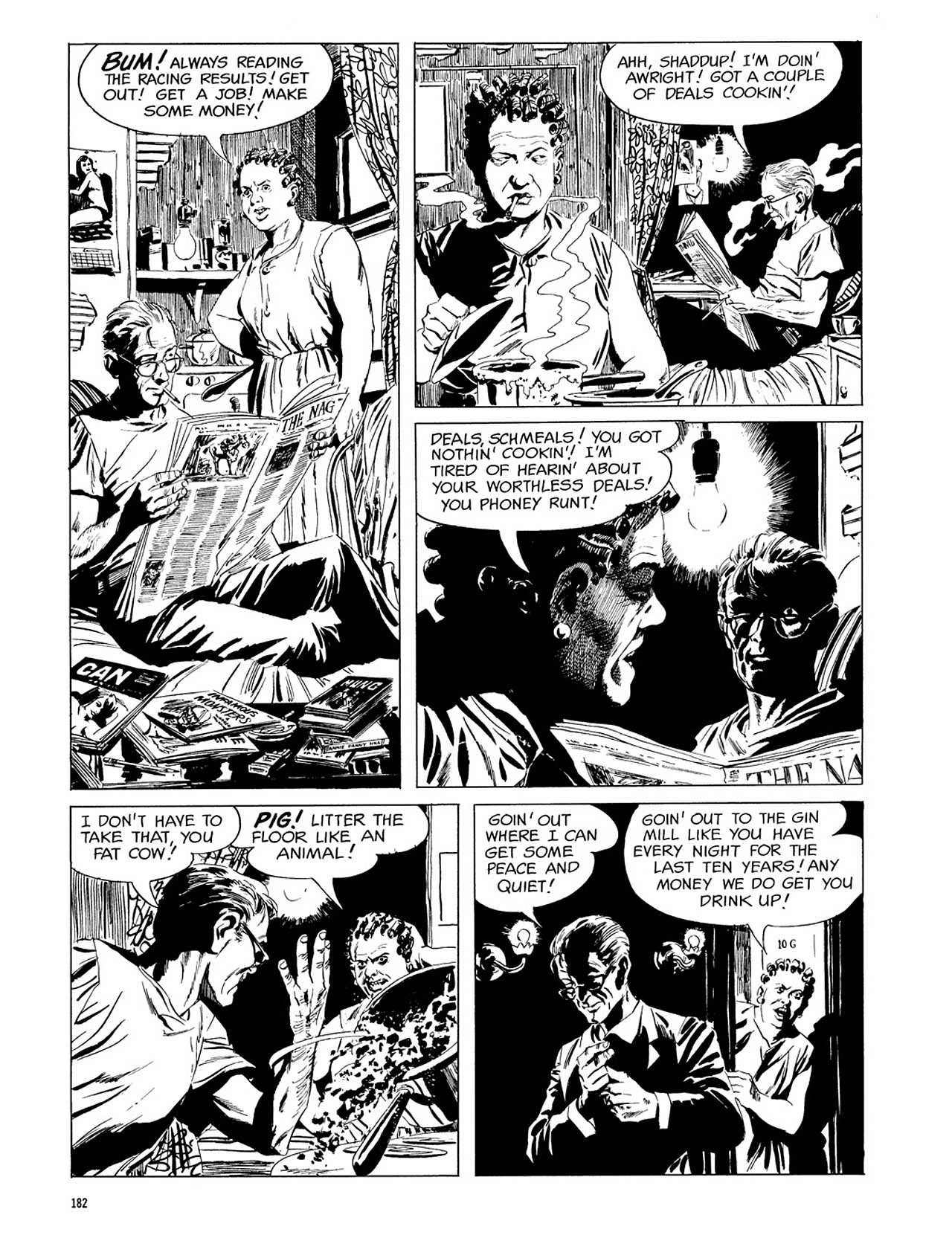 Read online Eerie Archives comic -  Issue # TPB 3 - 183