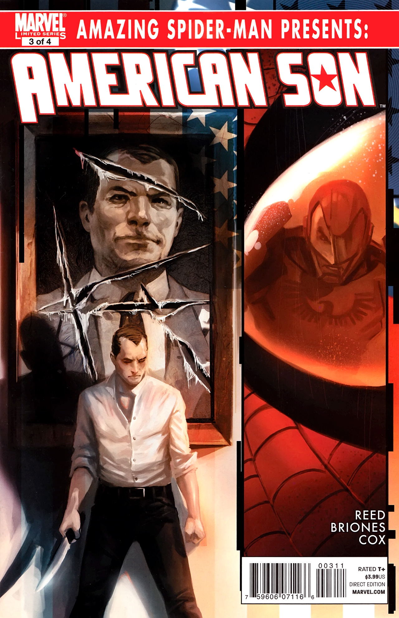 Read online Amazing Spider-Man Presents: American Son comic -  Issue #3 - 1