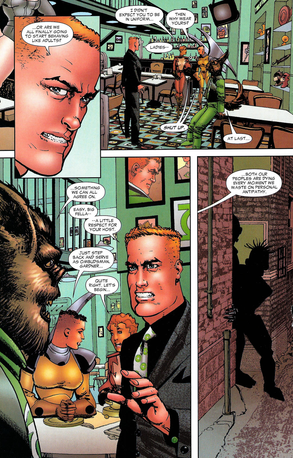 Read online Guy Gardner: Collateral Damage comic -  Issue #1 - 37