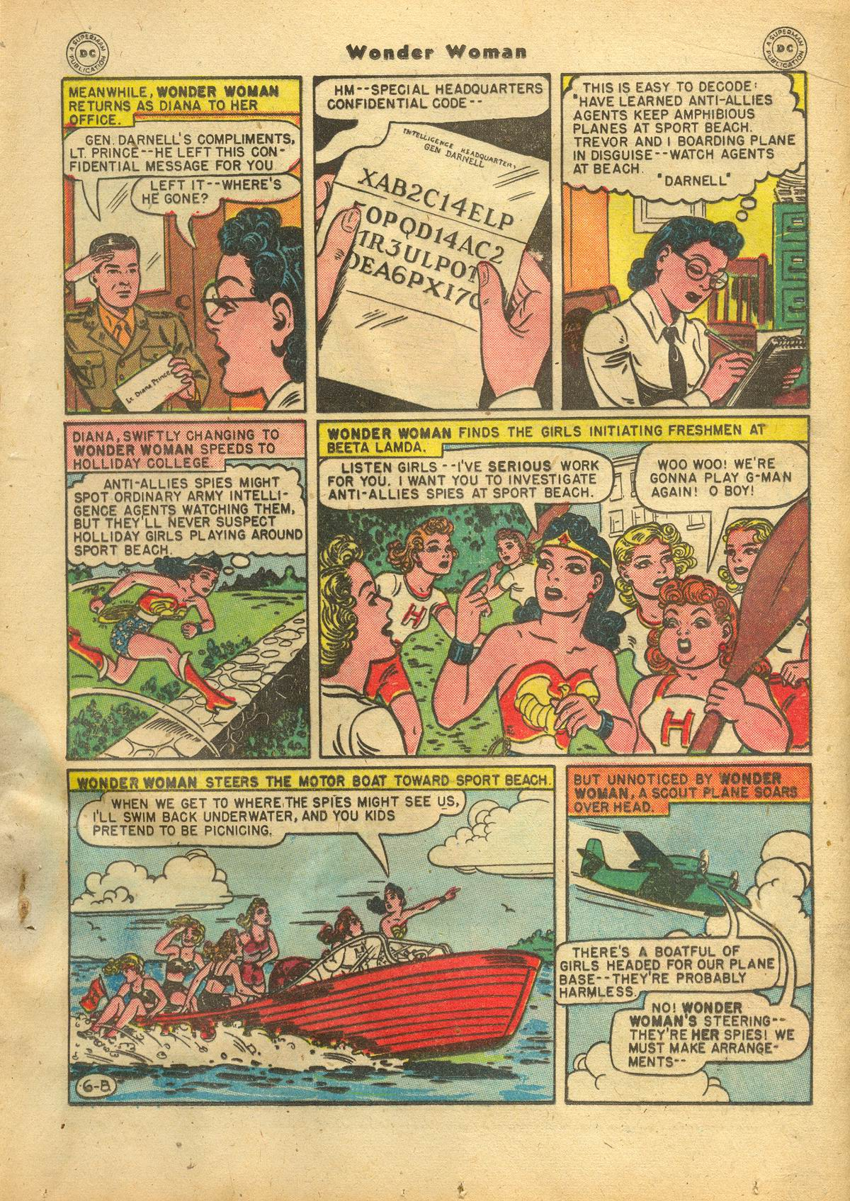 Read online Wonder Woman (1942) comic -  Issue #22 - 25