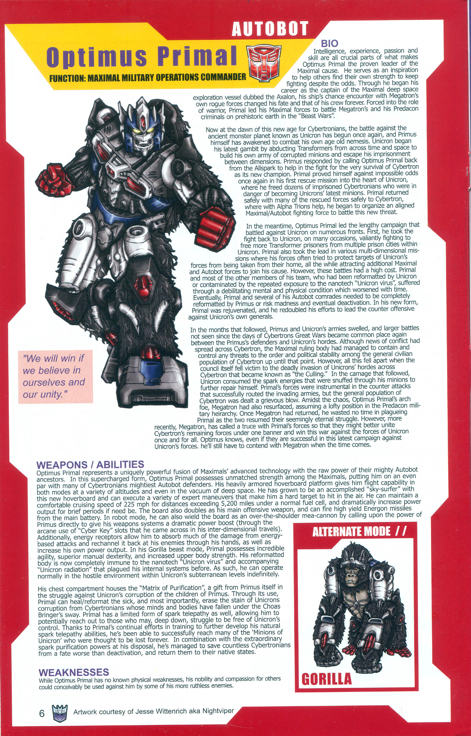 Read online Transformers: Collectors' Club comic -  Issue #9 - 6