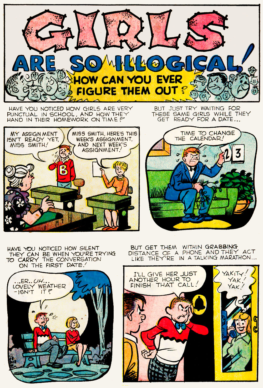 Archie's Madhouse issue 20 - Page 21