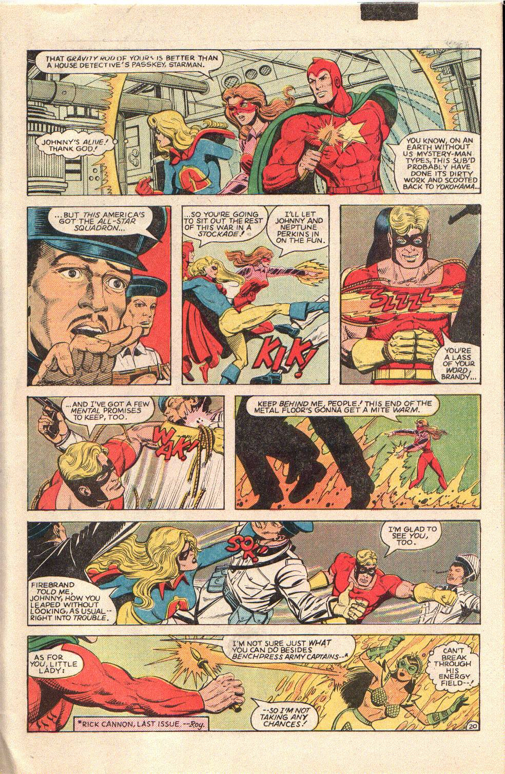 Read online All-Star Squadron comic -  Issue #34 - 27